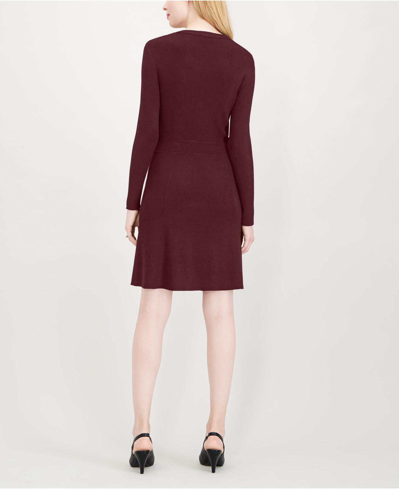 6aa5eb9075a6 Lyst - Maison Jules Ribbed Sweater Dress
