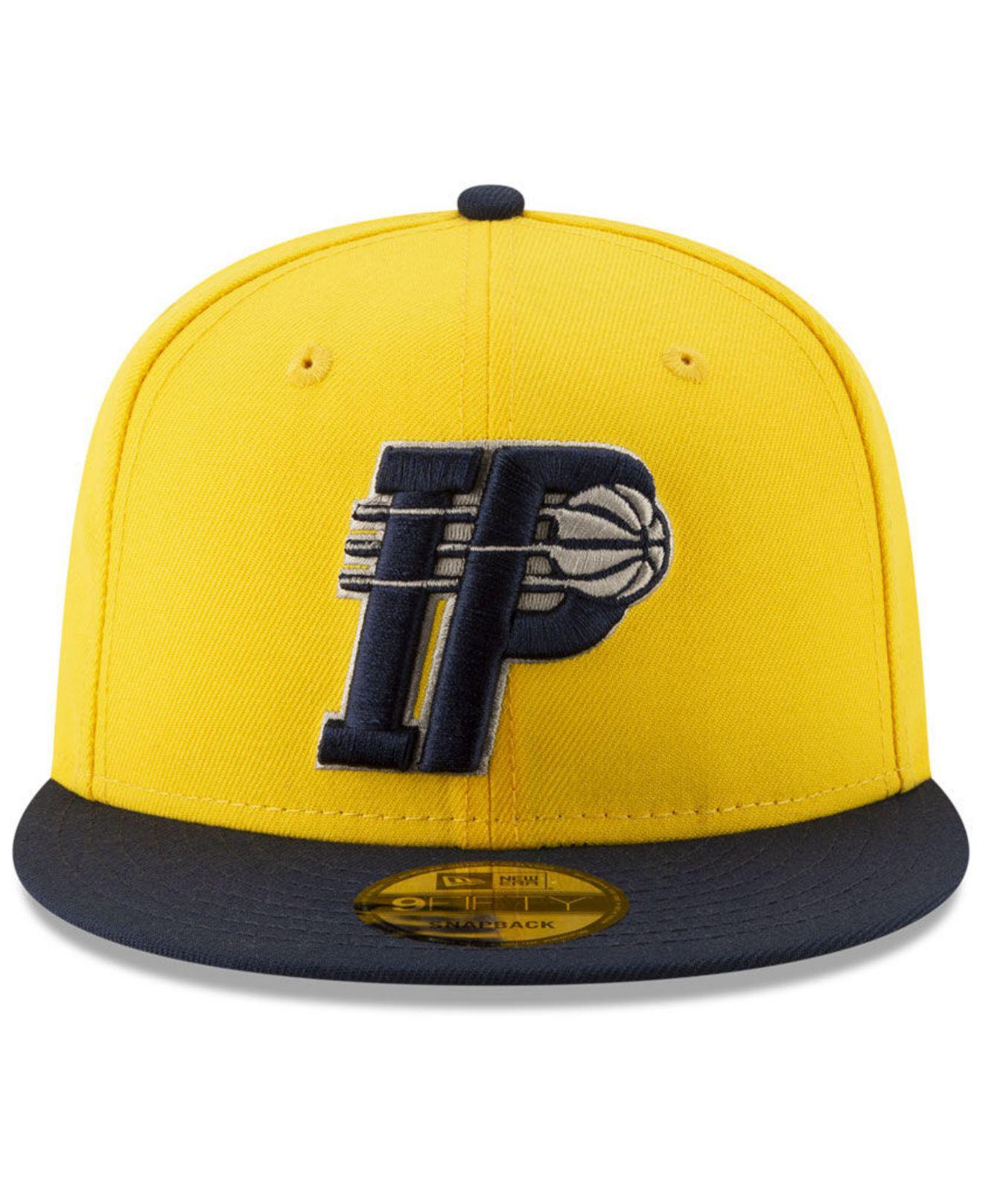 new products 1cec4 e166b Lyst - KTZ Indiana Pacers Light City Combo 9fifty Snapback Cap in Yellow  for Men