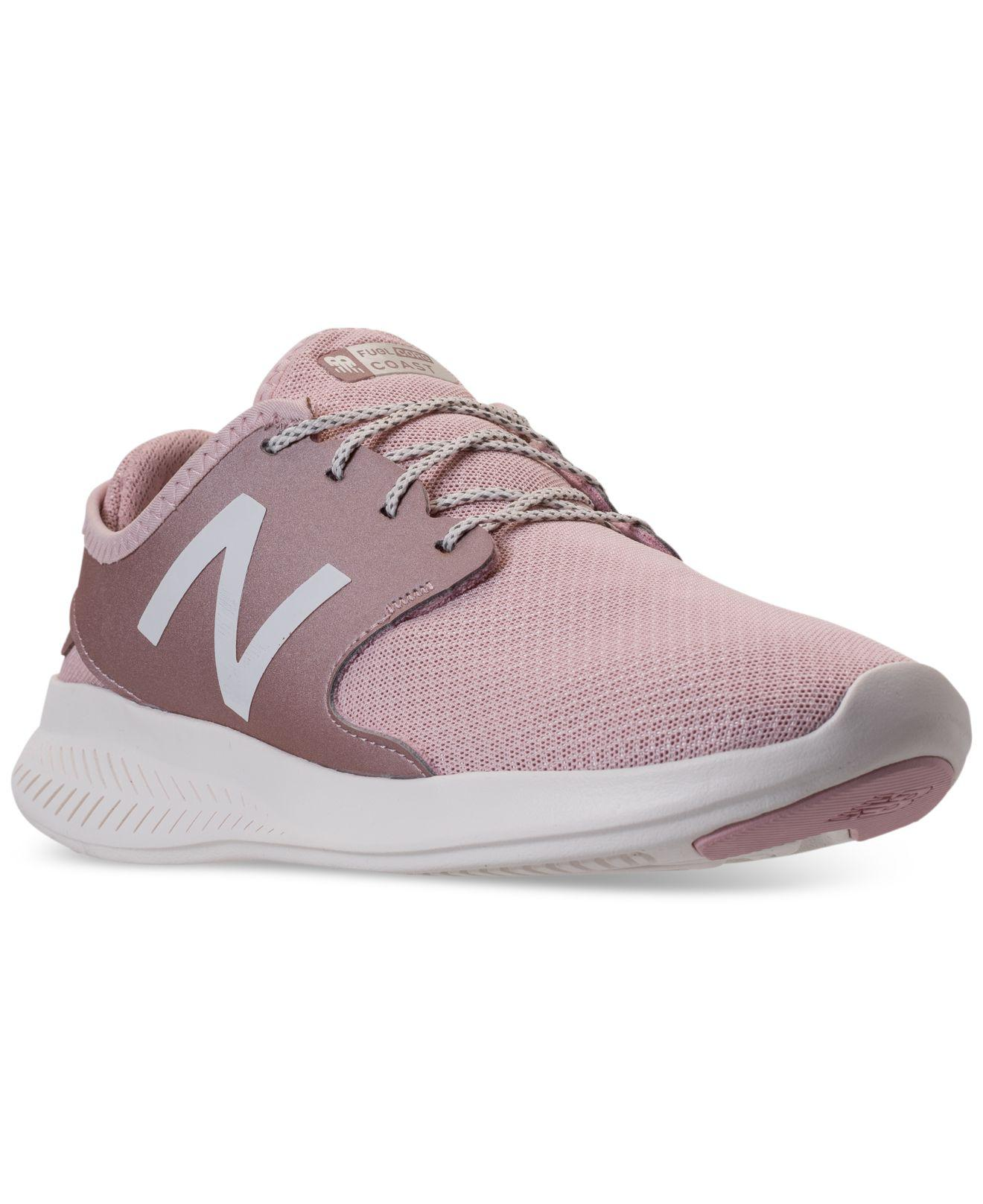 New Balance Women's FuelCore Coast V4 Running Sneakers from Finish Line 3p3DY88a