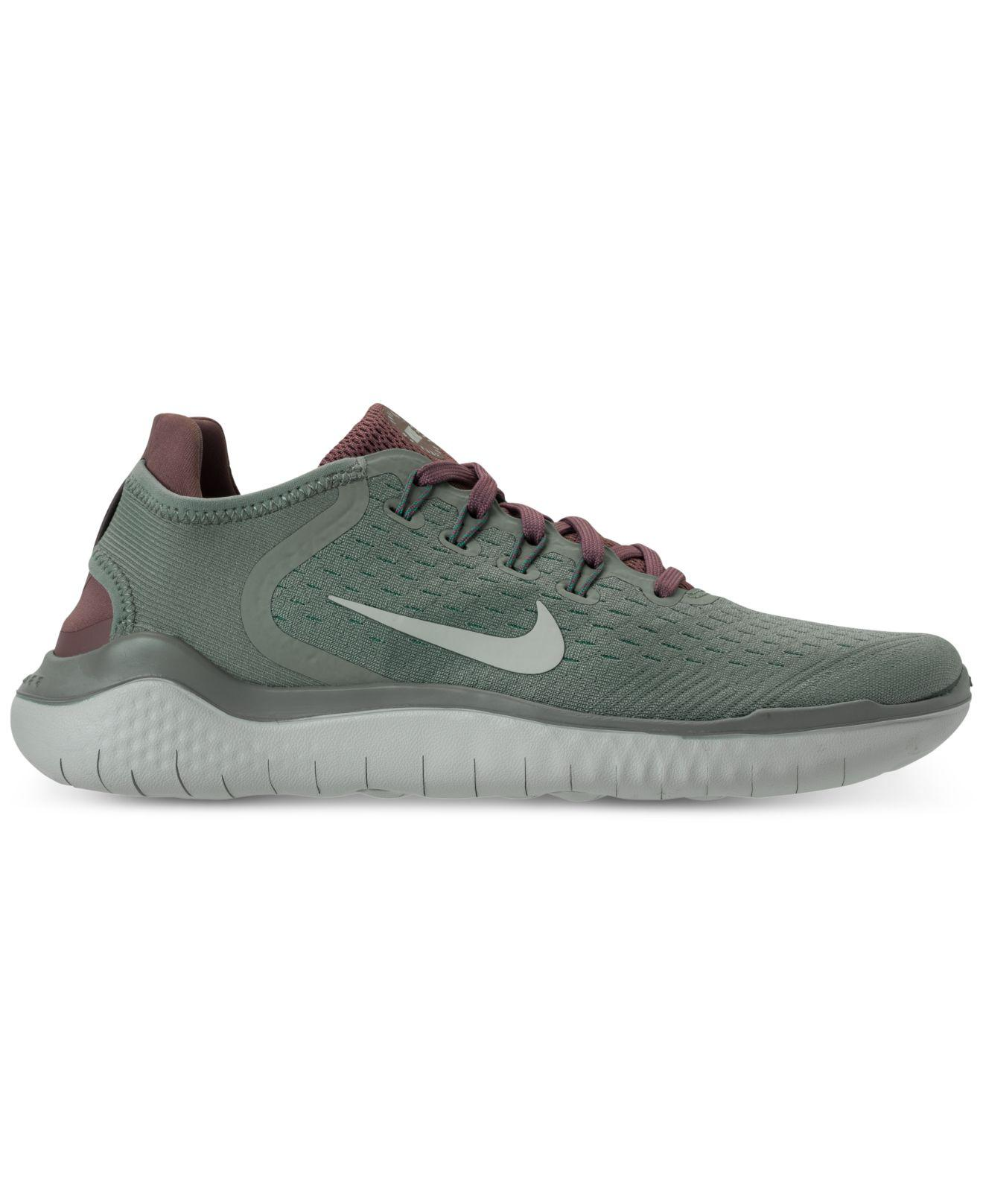 best loved 1cd70 749b7 Lyst - Nike Free Run 2018 Running Sneakers From Finish Line in Green