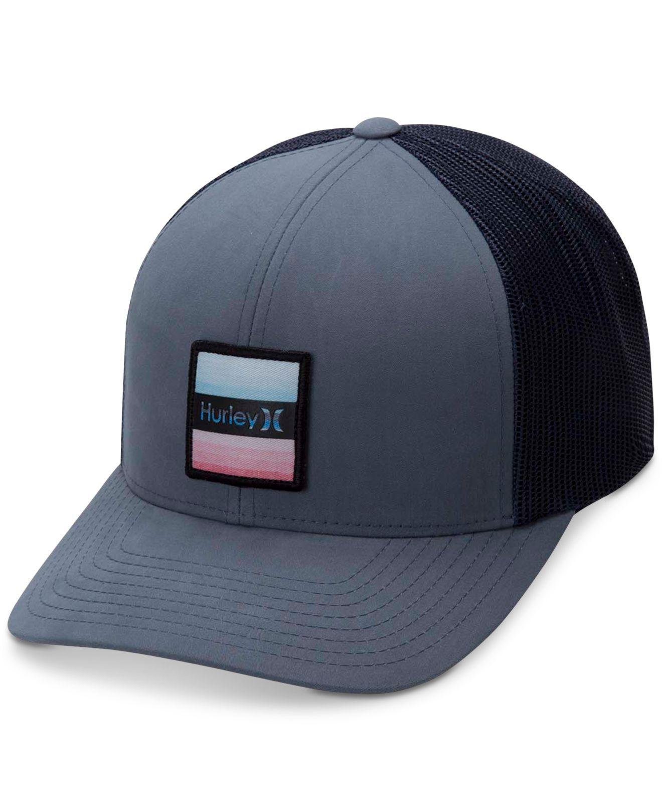 39719f6f7436b Lyst - Hurley Bayside Colorblocked Snapback Hat in Blue for Men
