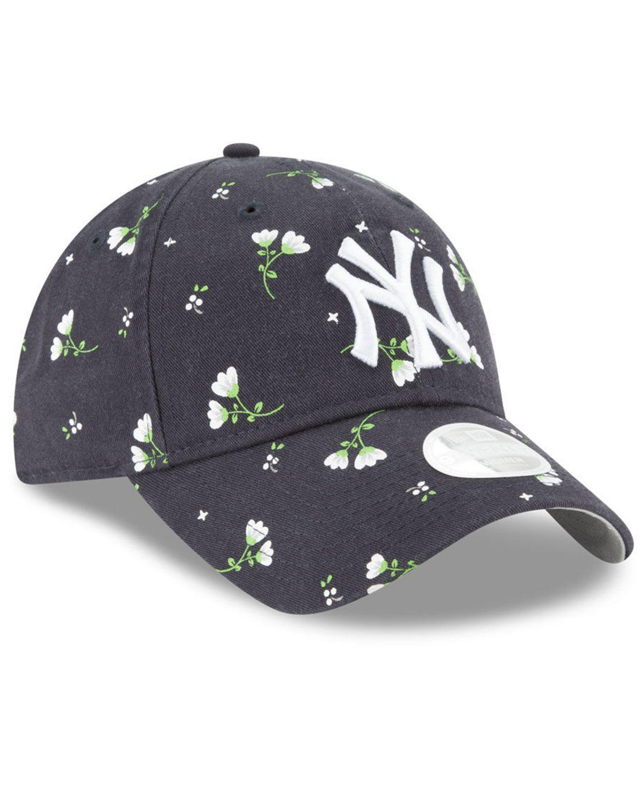 06d251d3c4d425 ... denmark lyst ktz new york yankees blossom 9twenty cap in blue 459a4  71e00