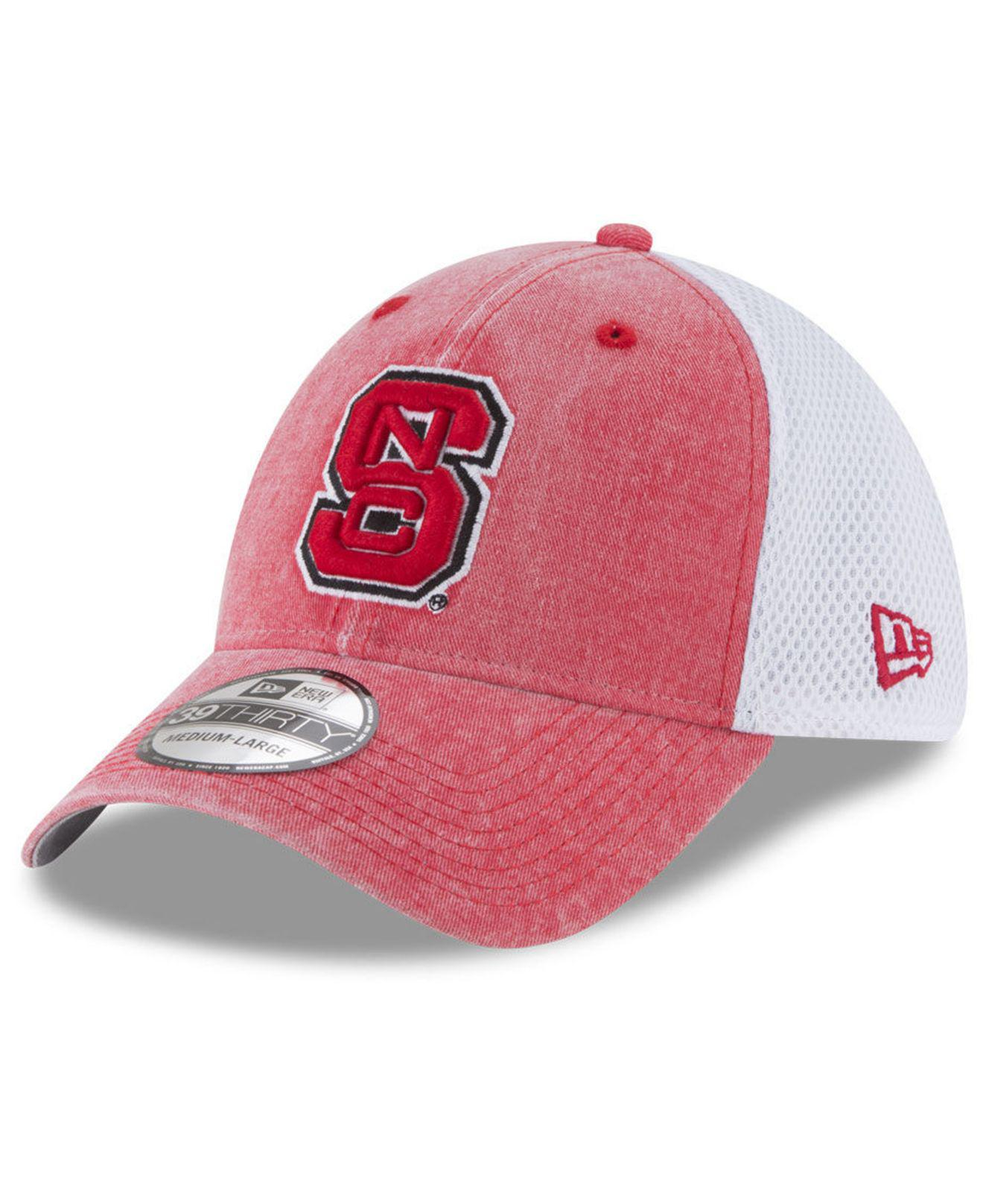 2c51b26c25d Lyst - KTZ North Carolina State Wolfpack Washed Neo 39thirty Cap for Men