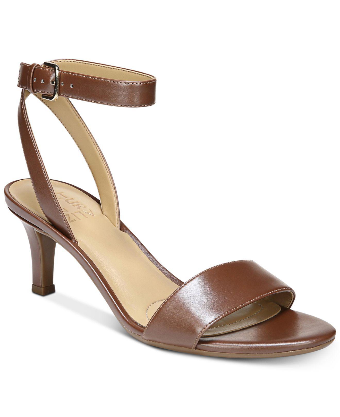 1a6132134d27 Lyst - Naturalizer Tinda Dress Sandals in Brown