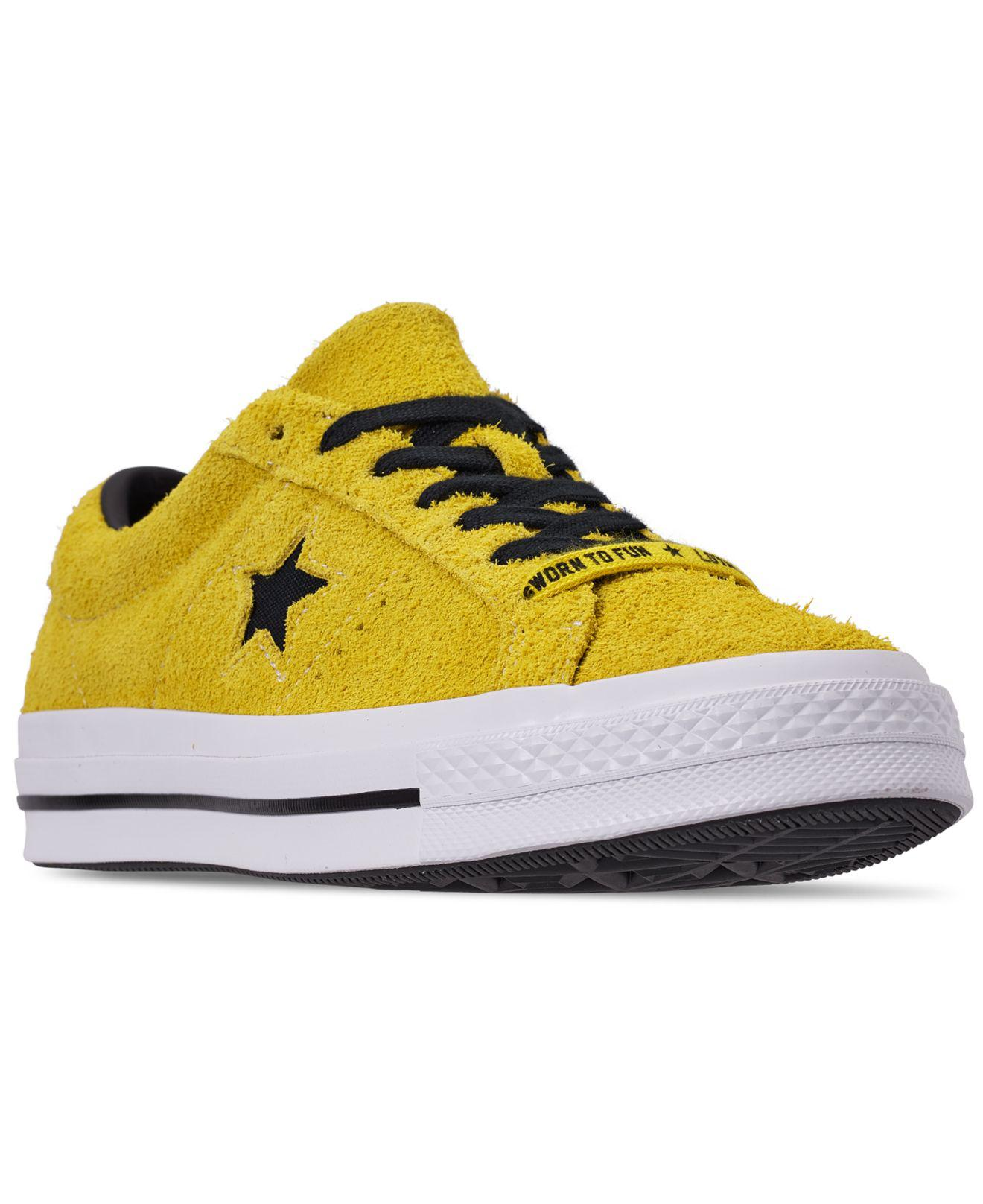 fad067cc2ffae6 Lyst - Converse One Star in Yellow for Men - Save 51%