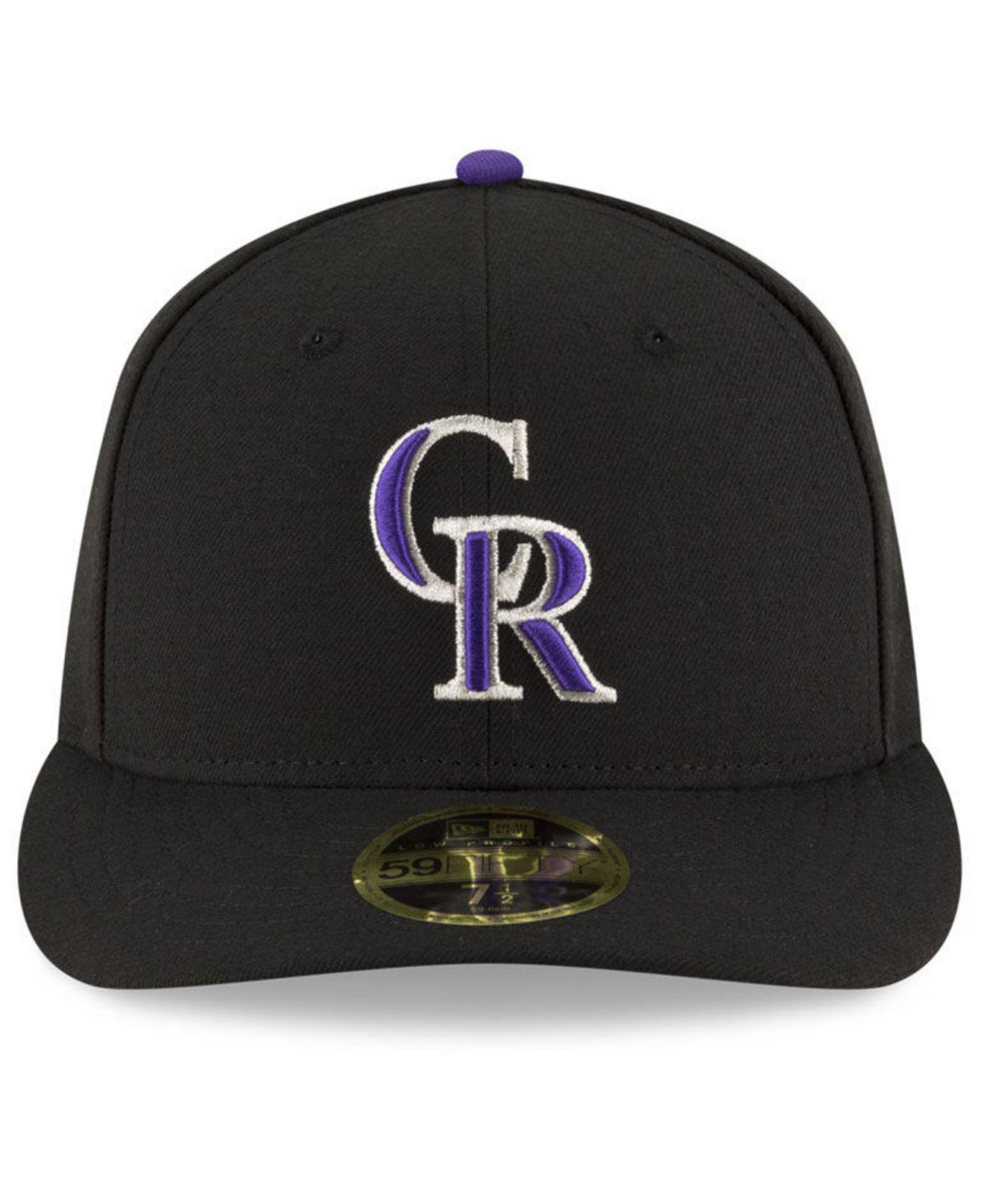 435ee8e9981fa Lyst - KTZ Colorado Rockies 9-11 Memorial Low Profile 59fifty Fitted Cap in  Black for Men