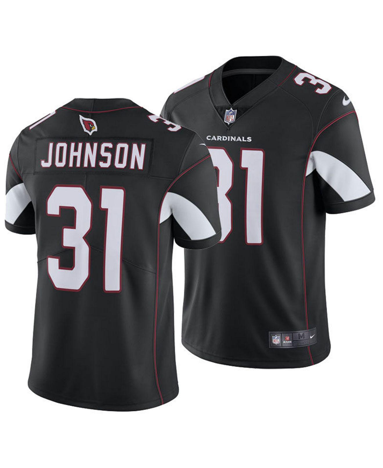 pretty nice cb910 b9f84 discount david johnson black jersey 1c101 6e787