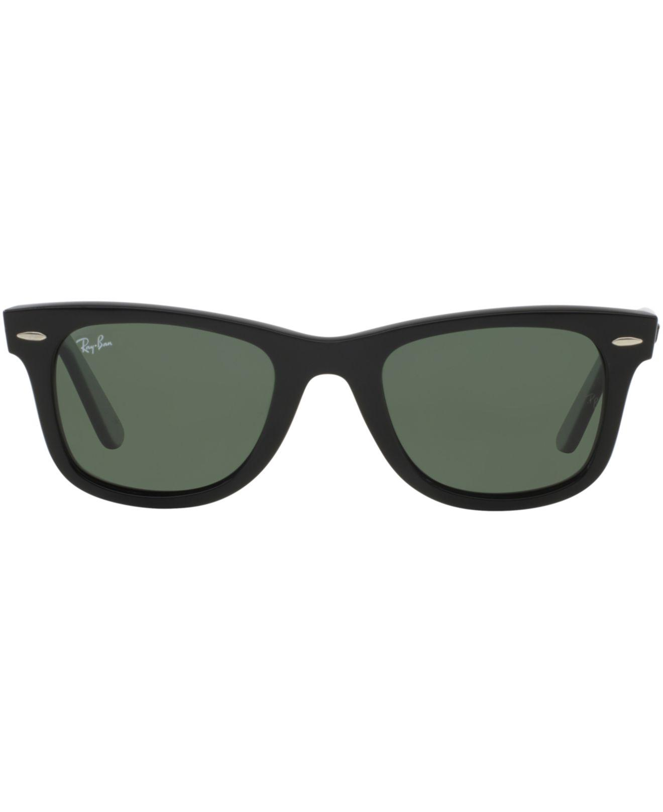 cd4a8c7ed7 Lyst - Ray-Ban Ray Ban Wayfarer Ease Black Sunglasses in Black for Men -  Save 9%