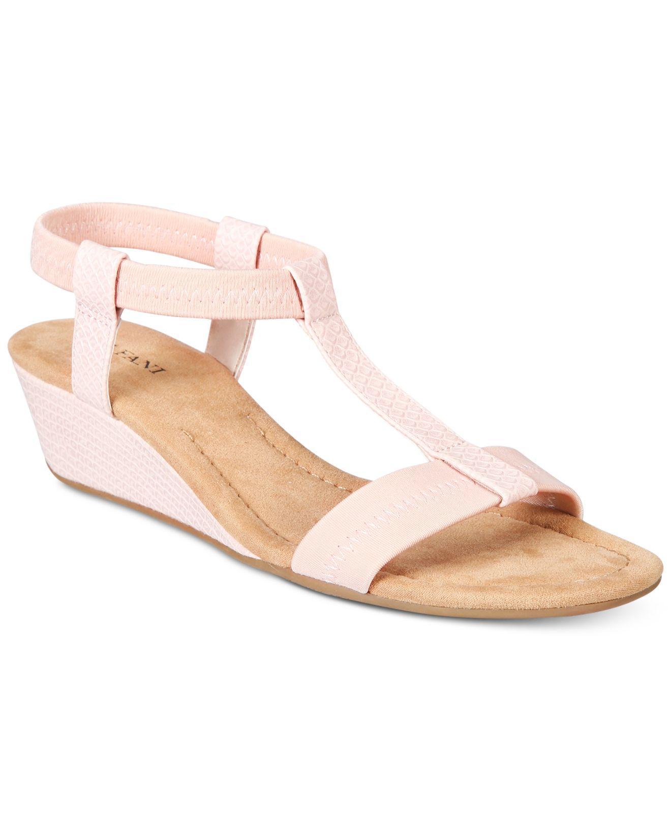 Alfani Voyage Wedge Sandals Save 45 Lyst