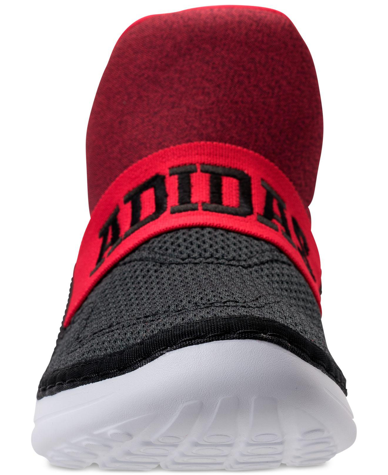 077ec8deba6e Lyst - Adidas Cloudfoam Zen Casual Sneakers From Finish Line in Red ...