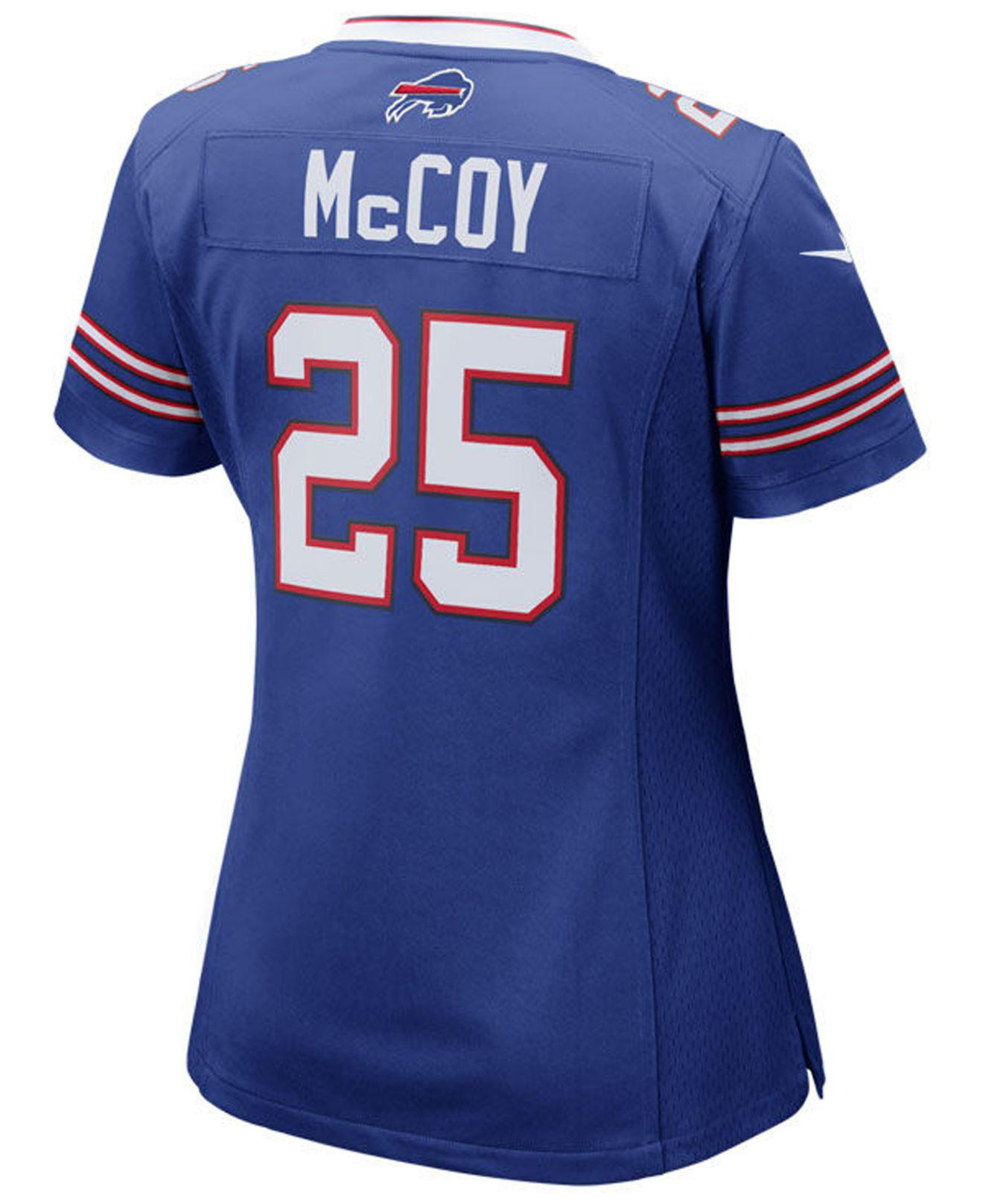 1e3c3229 Lyst - Nike Lesean Mccoy Buffalo Bills Game Jersey in Blue