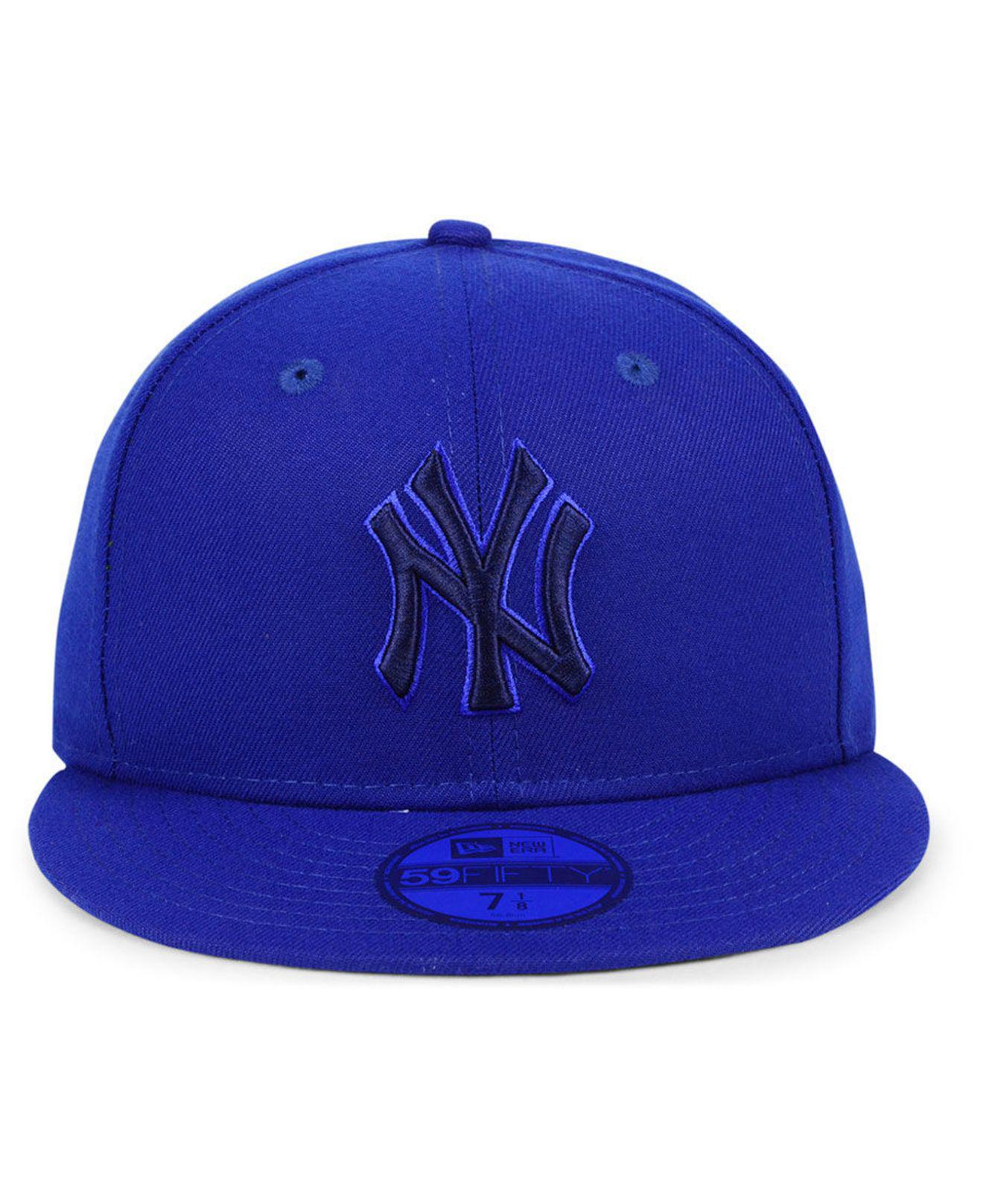 038ce84f5f3 Lyst - Ktz New York Yankees Prism Color Pack 59fifty Fitted Cap in Blue for  Men