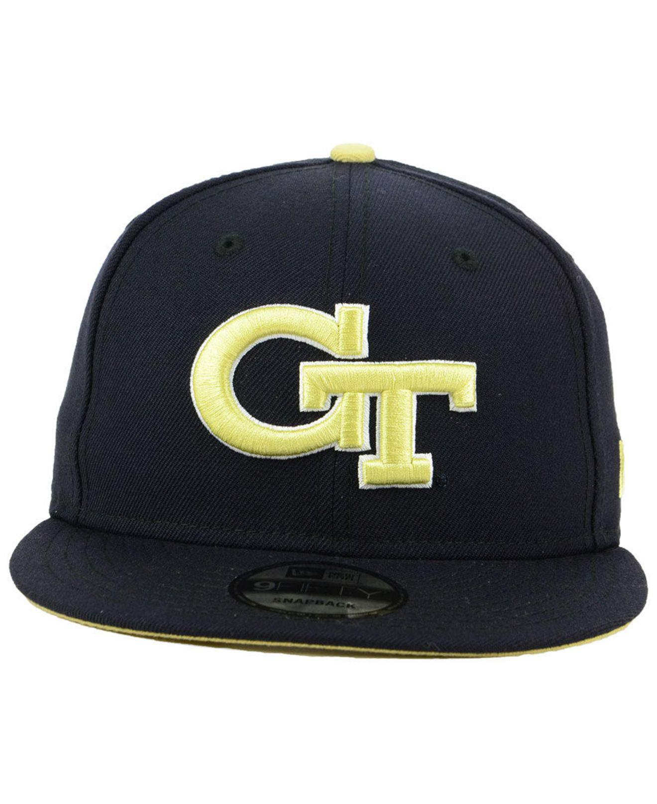 c2b7a2c5123 switzerland classic logo hat black white c684d ea7be  get lyst ktz georgia  tech core 9fifty snapback cap in black for men 2a1eb 7a3bc
