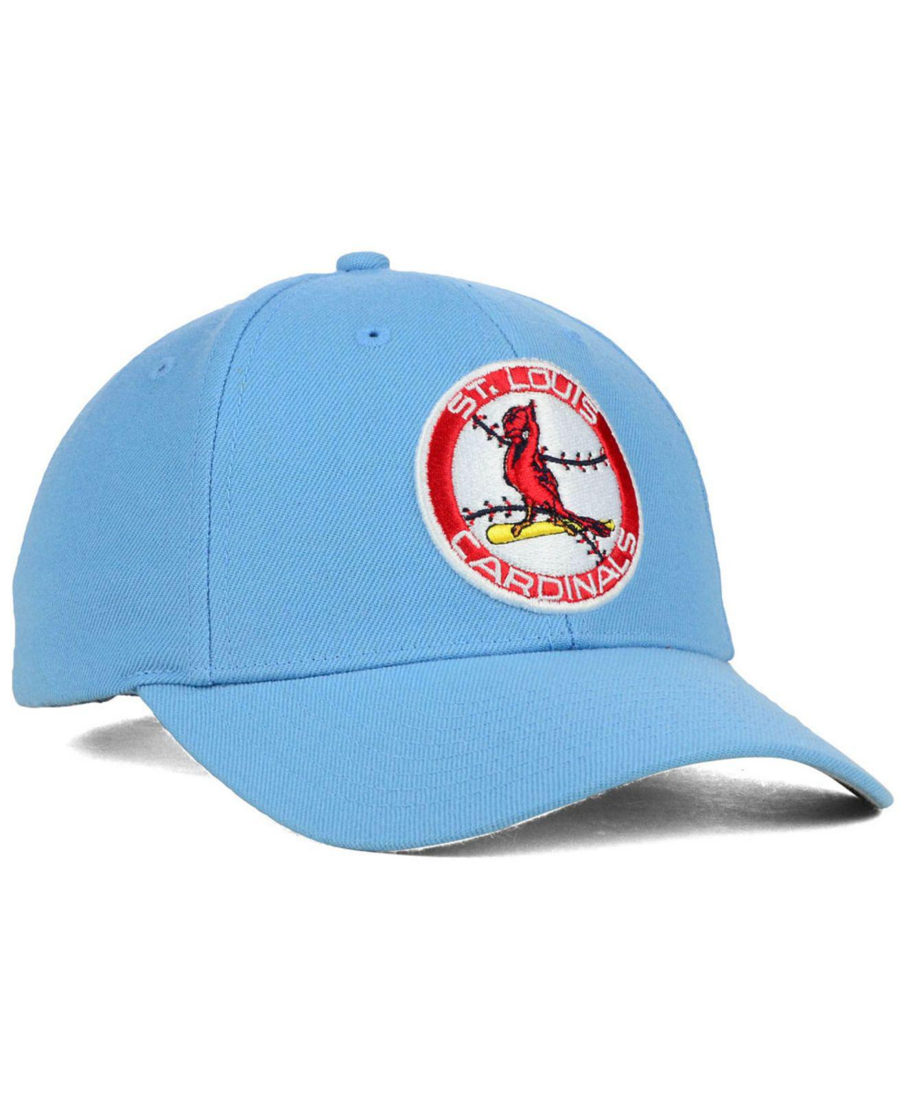 Lyst - 47 Brand St. Louis Cardinals Mvp Curved Cap in Blue for Men 8602dc7cd9c