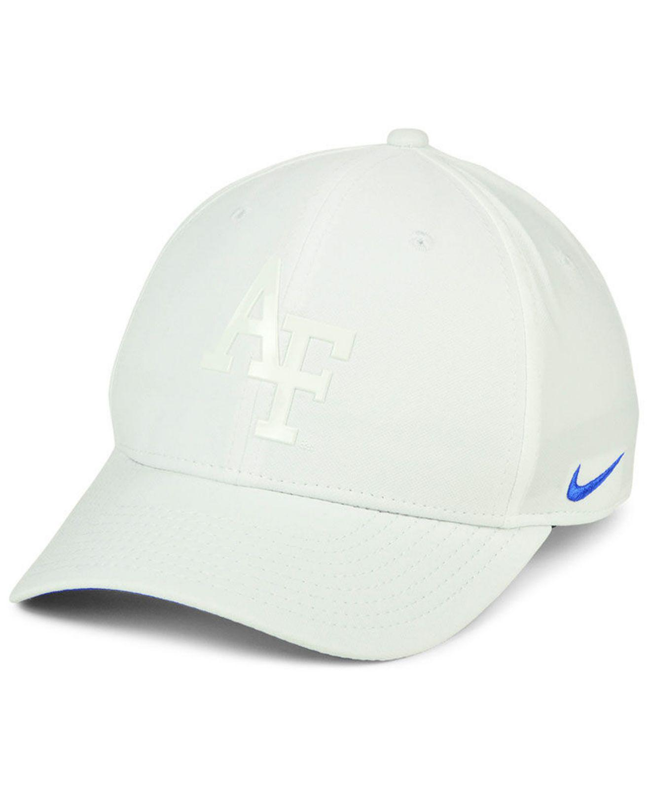 4634faf2 Lyst - Nike Air Force Falcons Col Cap in White for Men