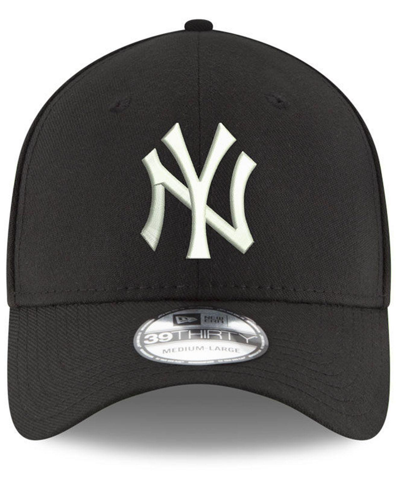 online retailer bbef6 de0b0 KTZ New York Yankees Dub Classic 39thirty Cap in Black for Men - Lyst