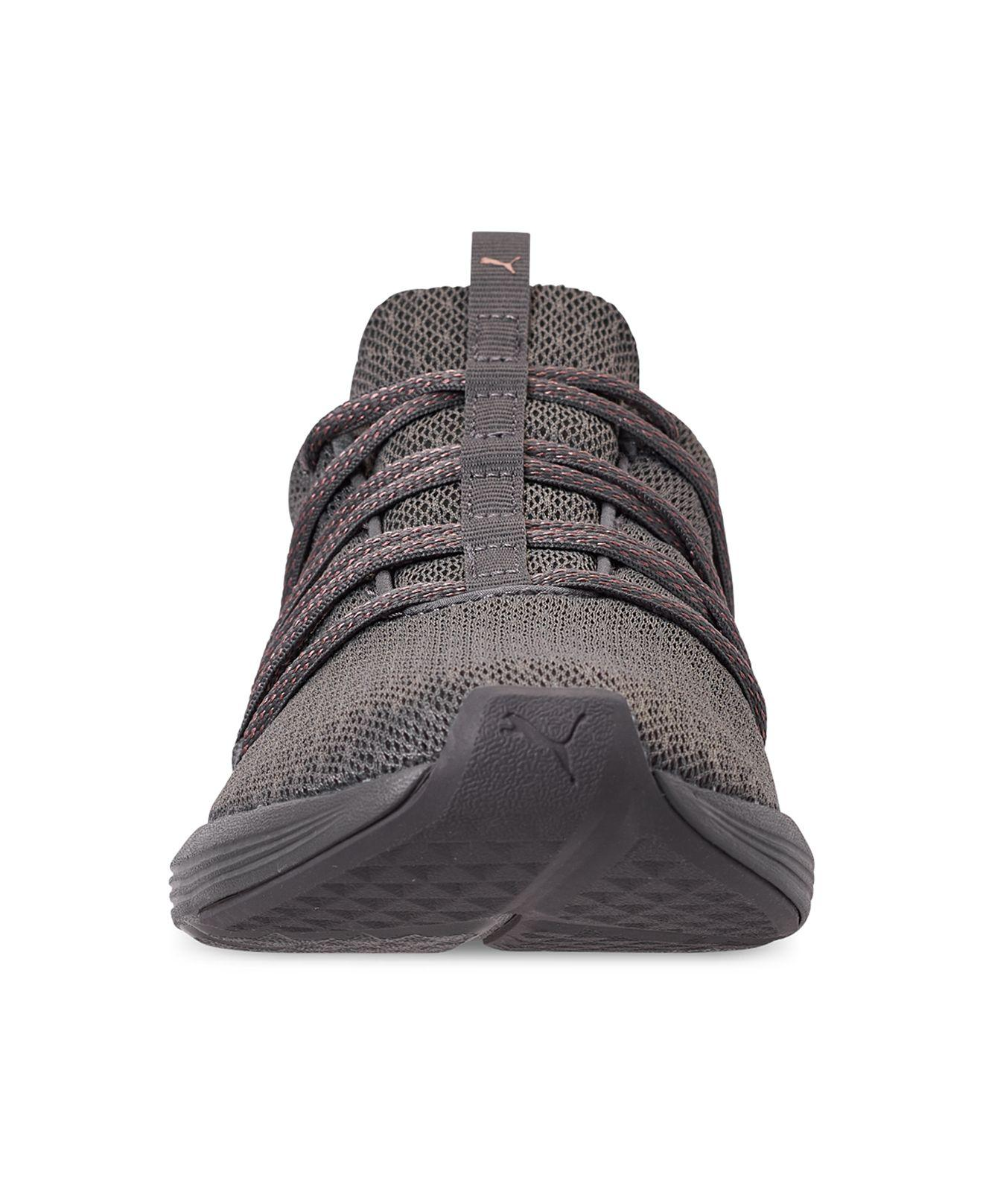 bb589f6c45a Women's Gray Prowl Alt Knit Mesh Training Sneakers From Finish Line