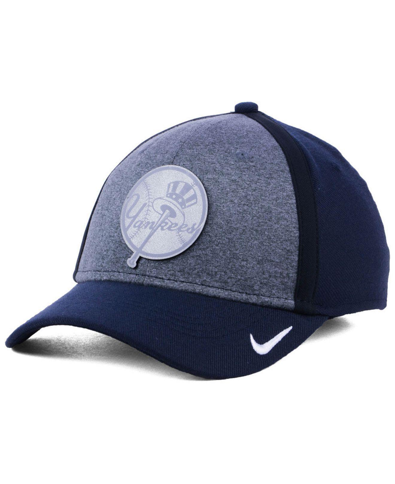 huge selection of 9d739 65b4e ... ireland lyst nike new york yankees team color reflective swooshflex cap  in c9a9b 06939