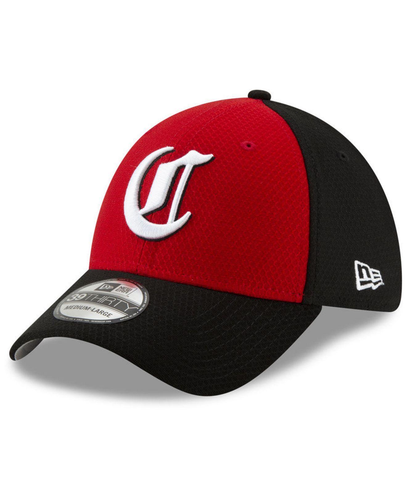 new product a8046 431d7 KTZ. Men s Cincinnati Reds Batting Practice 39thirty Cap