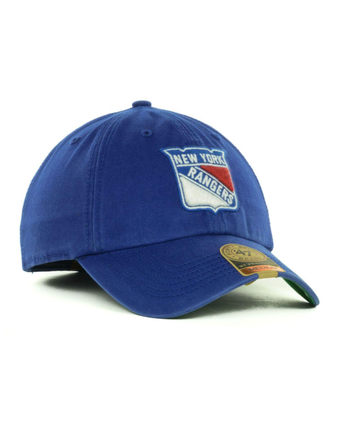 cd1b20eb5d209a 47 Brand New York Rangers Nhl 47 Franchise Cap in Blue for Men - Lyst