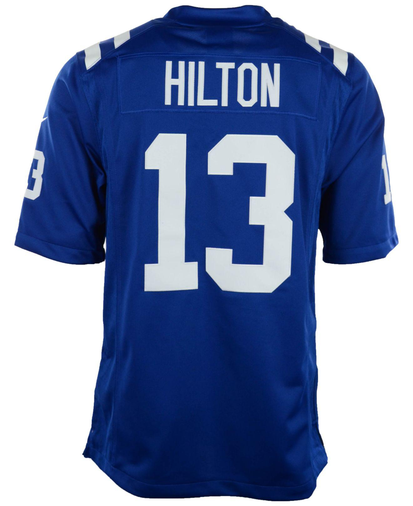 san francisco 8b159 7cef8 Nike Men's Ty Hilton Indianapolis Colts Limited Jersey in ...