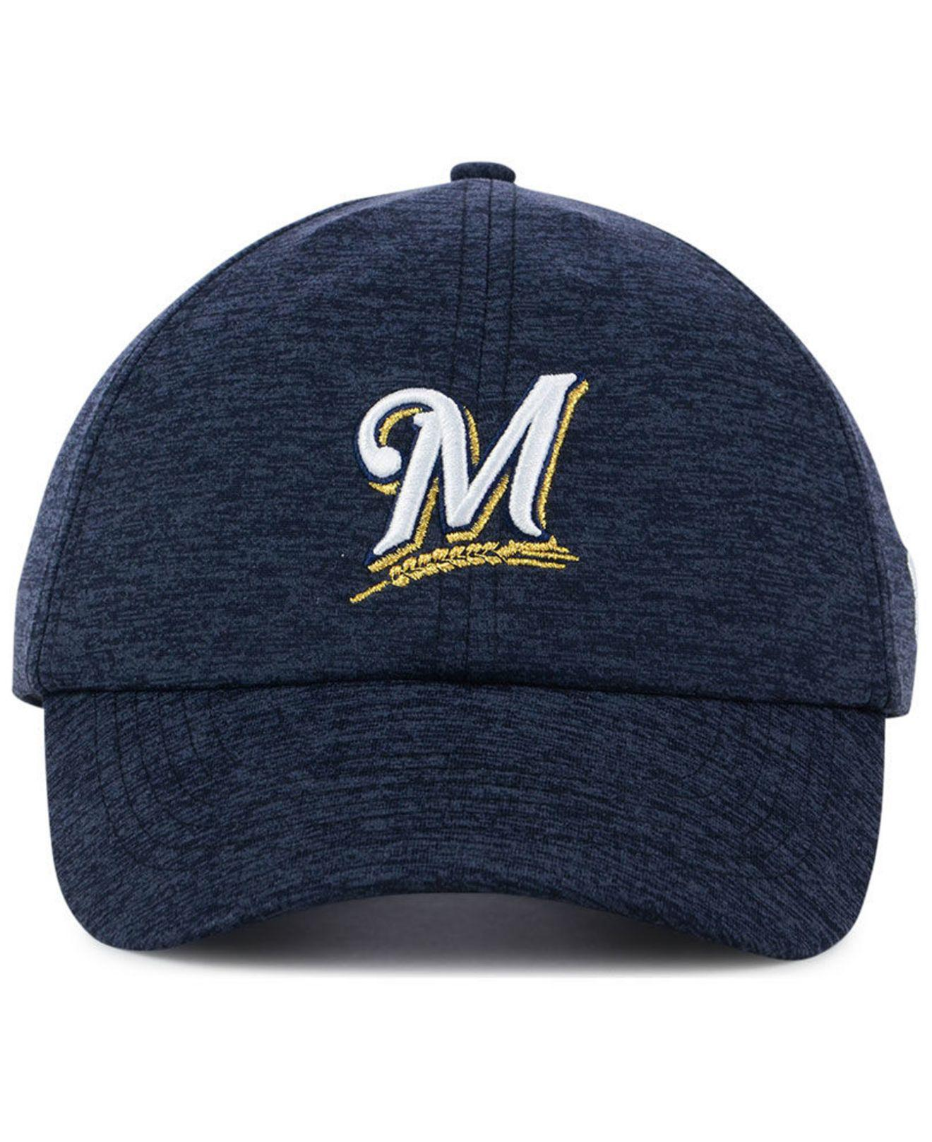 11739e98927 Lyst - Under Armour Milwaukee Brewers Renegade Twist Cap in Blue