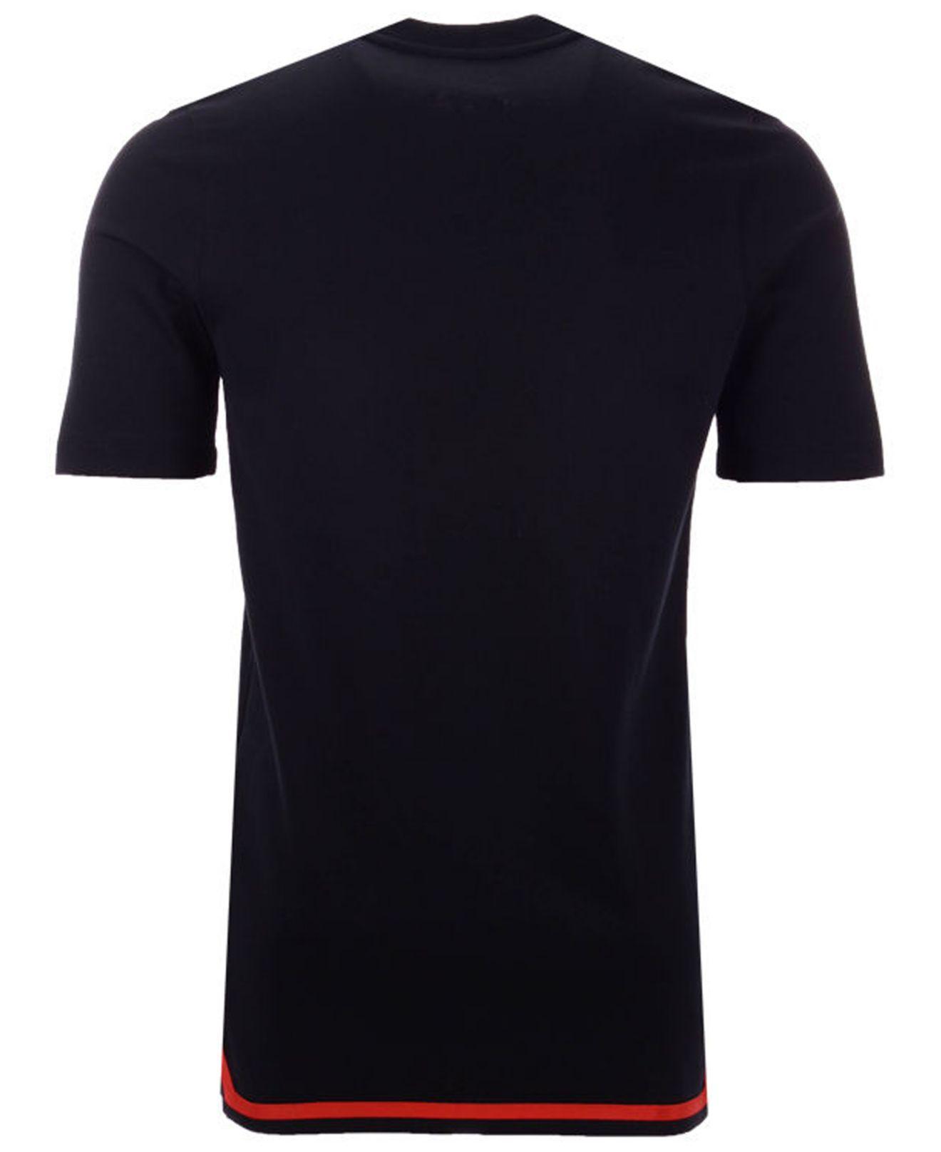 Lyst - Nike Portland Trail Blazers City Edition Shooting T-shirt in Black  for Men f5511c449
