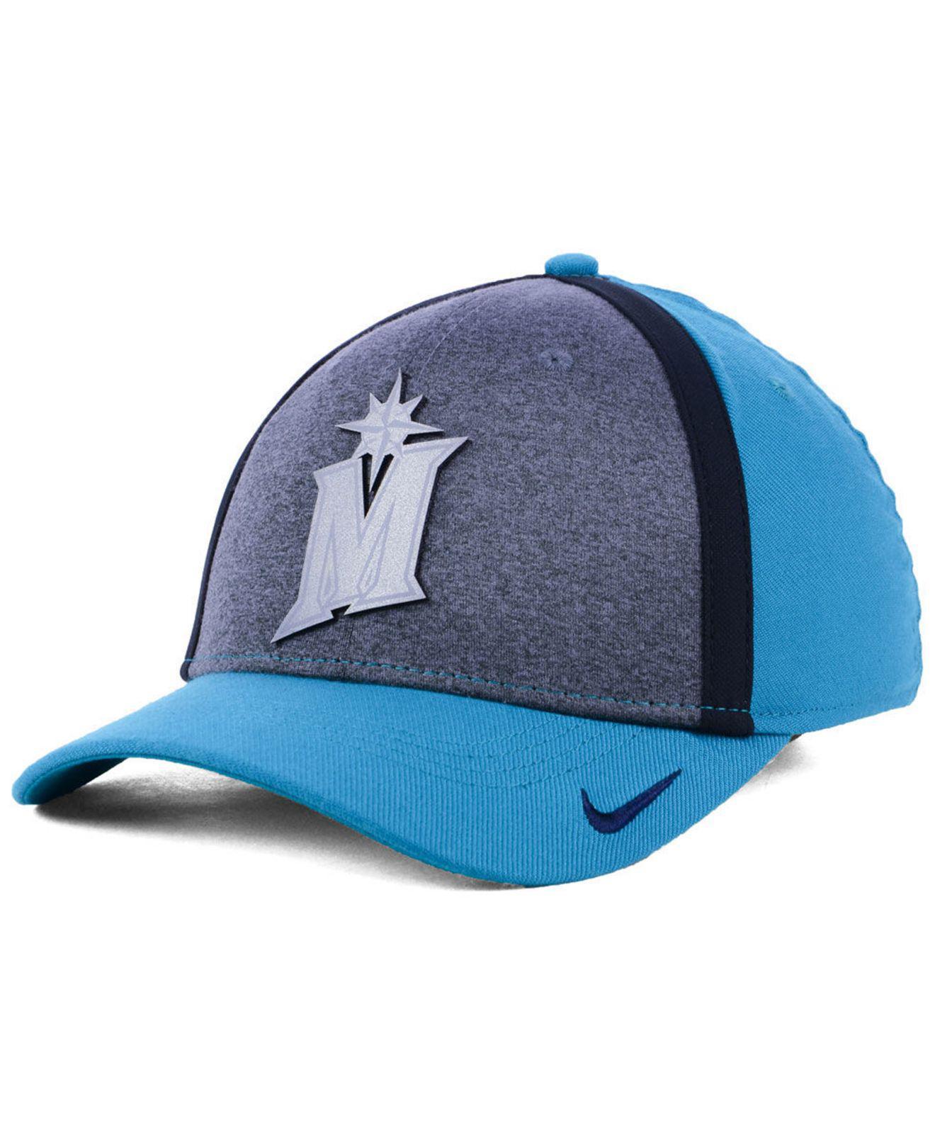 e2539d93 ... low price nike. mens blue seattle mariners team color reflective  swooshflex cap c2895 10350