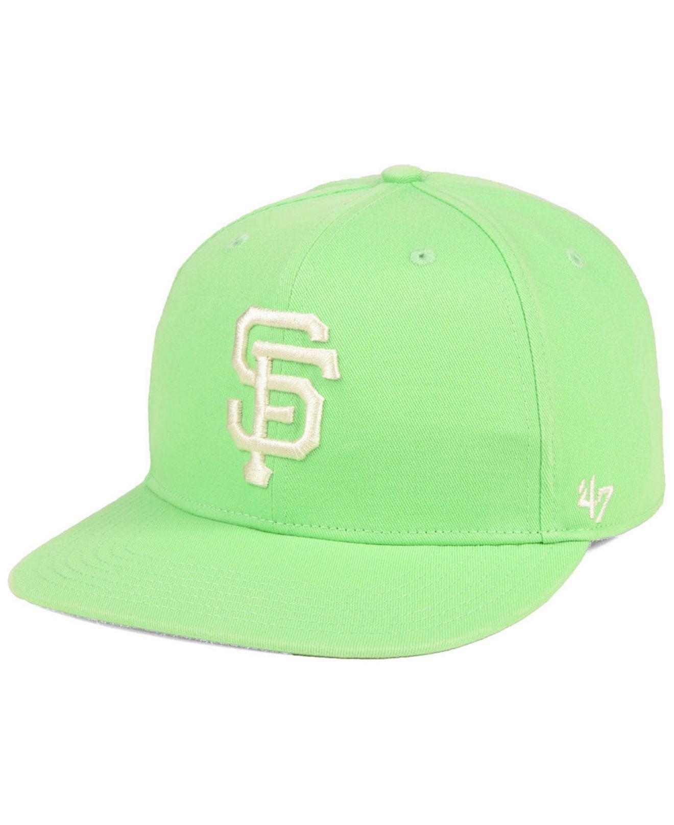 reputable site b218d c4f15 47 Brand. Men s Green San Francisco Giants Island Snapback Cap