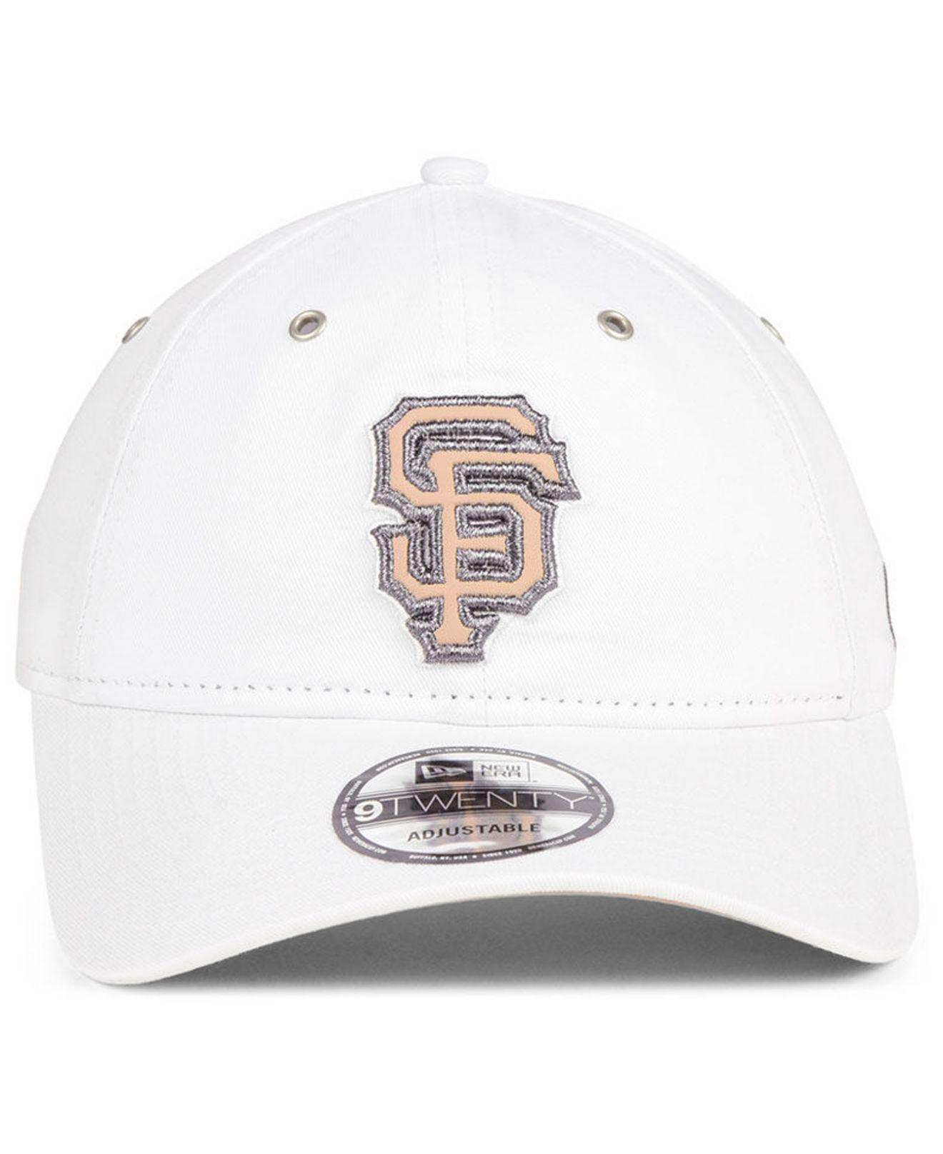 pretty nice on sale check out check out 647dc 606e3 san francisco giants metallic pastel 9twenty ...
