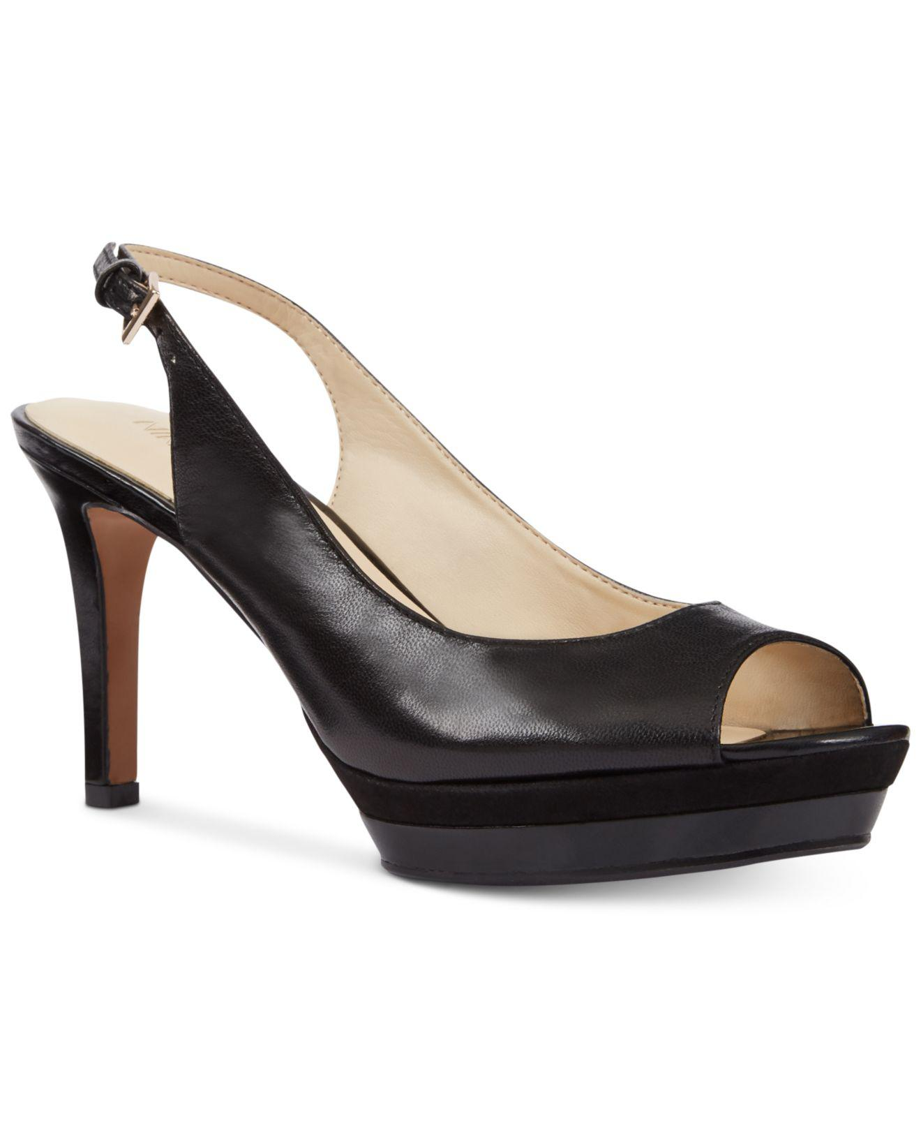 148ca8863d3 Lyst - Nine West Able Mid-heel Pumps in Black