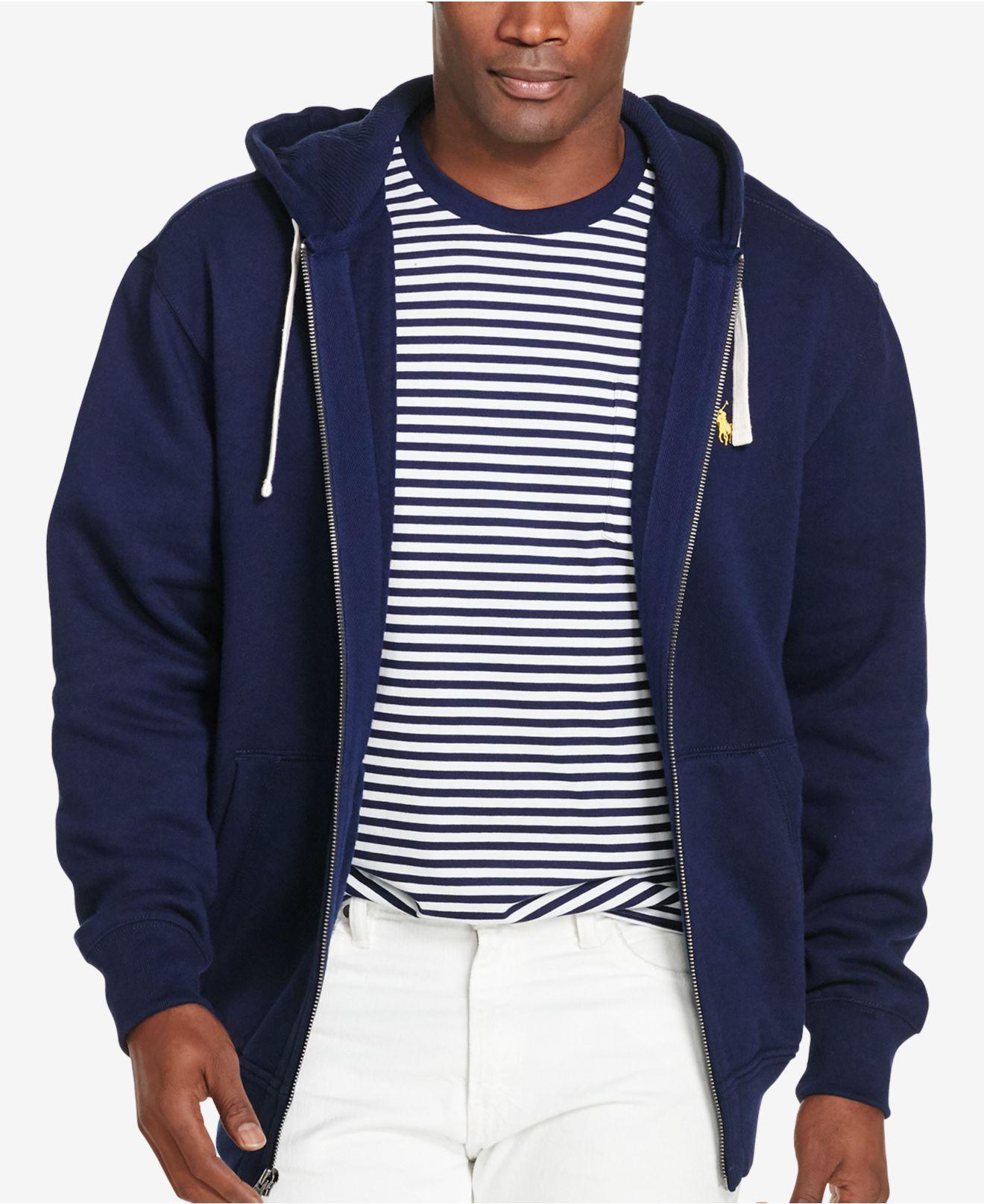 8da4a618c Polo Ralph Lauren. Men s Blue Big And Tall Hoodie ...