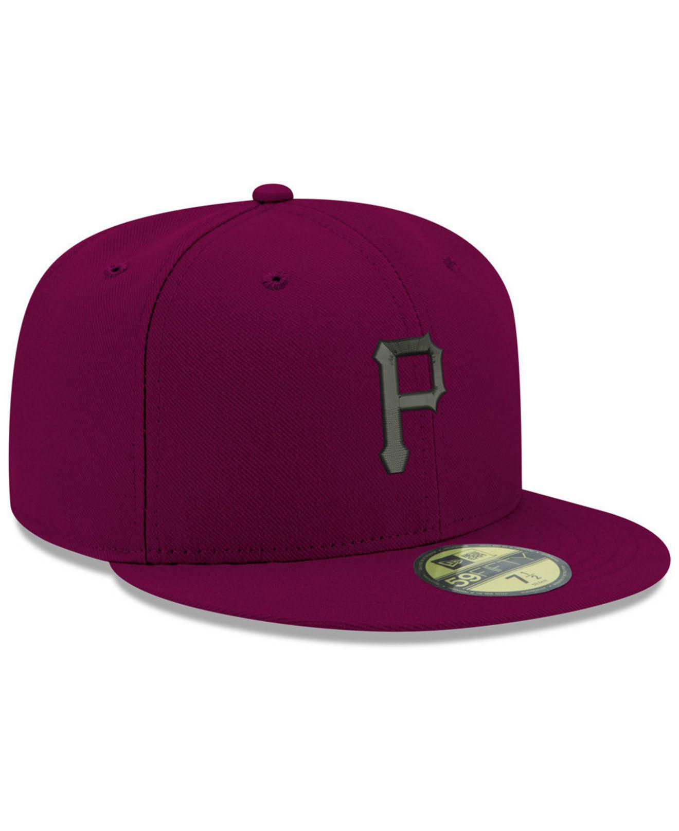 new product e2ec6 07859 ... promo code for pittsburgh pirates reverse c dub 59fifty fitted cap for  men lyst. view