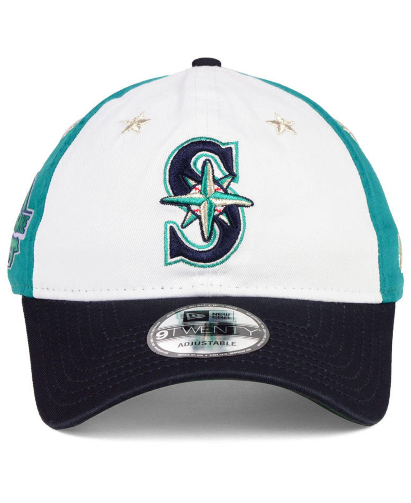 new product 80e59 6d272 ... italy lyst ktz seattle mariners all star game 9twenty strapback cap  2018 in blue for men