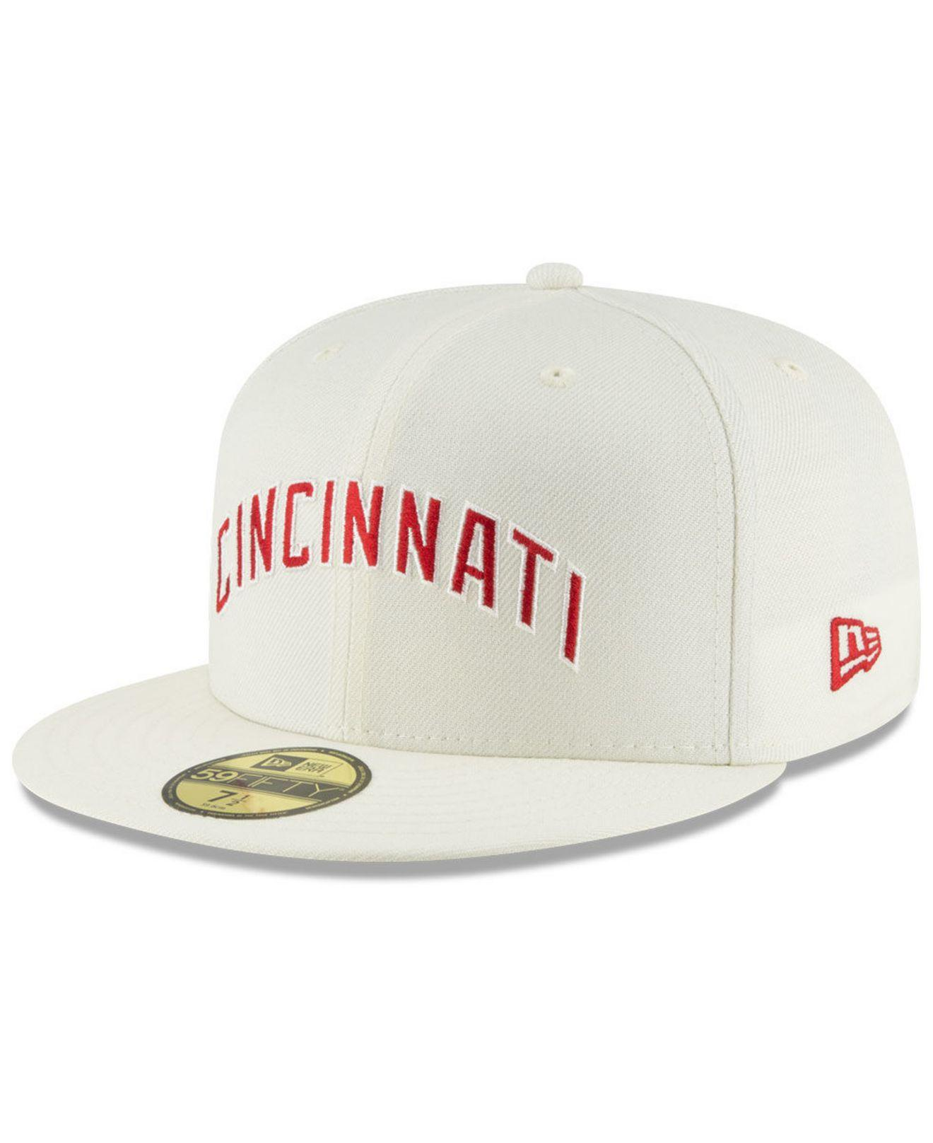 1fc56b1274e Lyst - KTZ Cincinnati Reds Vintage World Series Patch 59fifty Cap ...