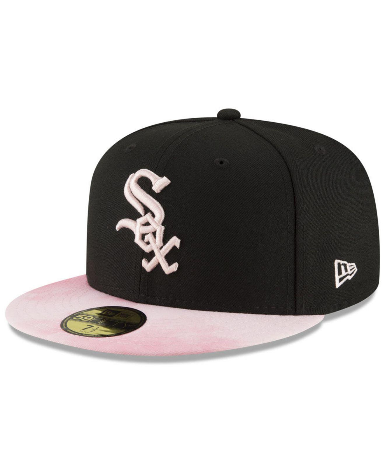 huge selection of e8e7f ff2bd KTZ - Pink Chicago White Sox Mothers Day 59fifty Fitted Cap - Lyst. View  fullscreen