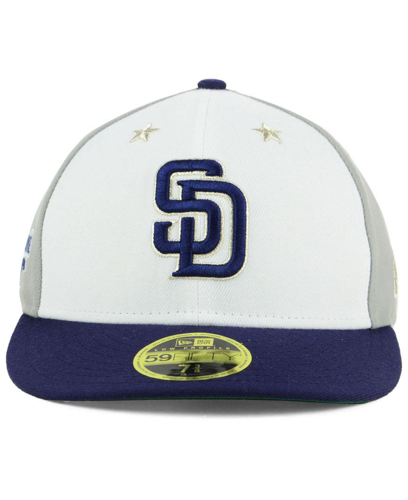 best loved aaa5f a8411 ... clearance lyst ktz san diego padres all star game patch low profile  59fifty fitted cap 2018