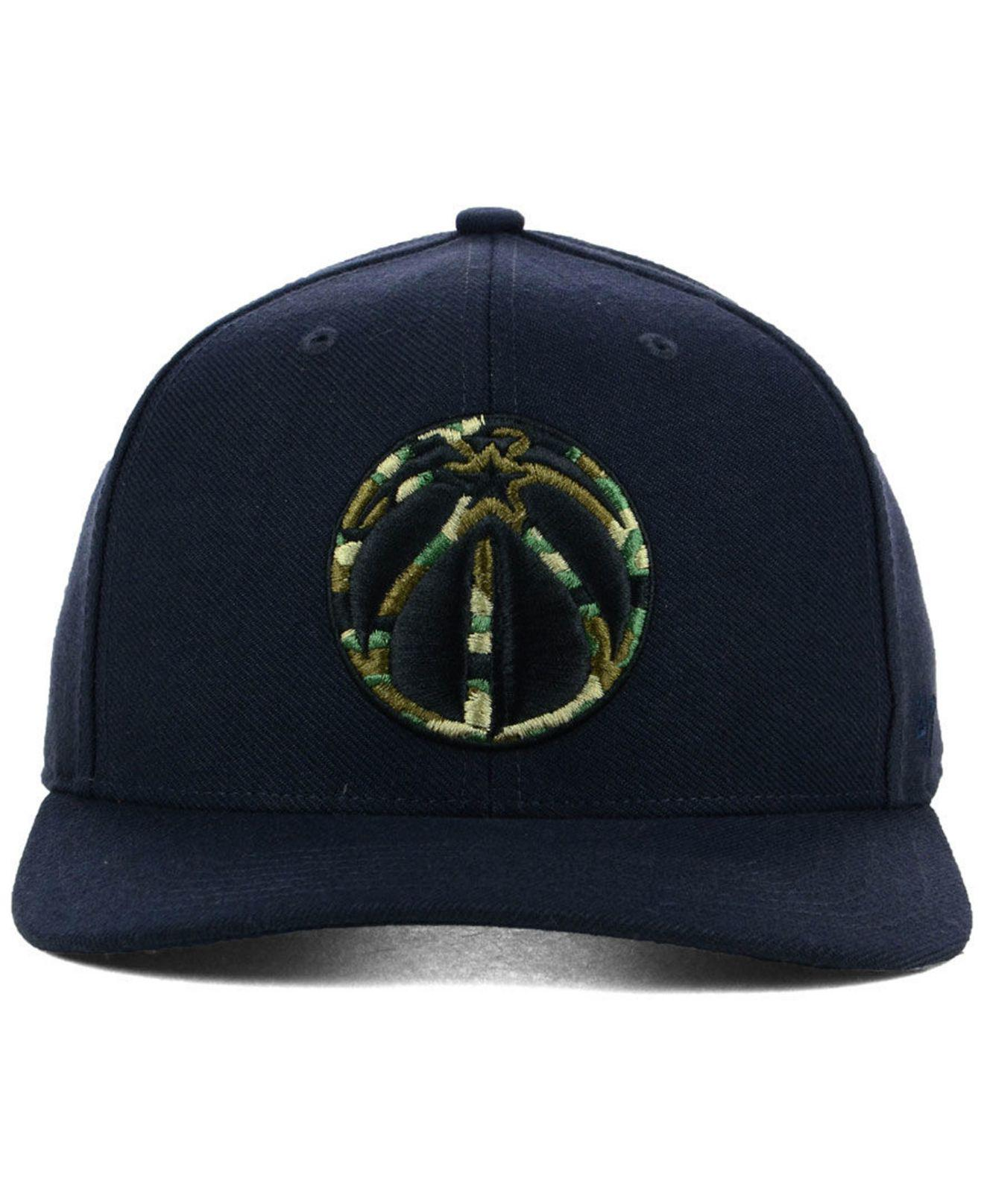 the latest 0eaa9 1f051 ... reduced lyst 47 brand washington wizards camfill mvp cap in blue for  men f792d bfcdd