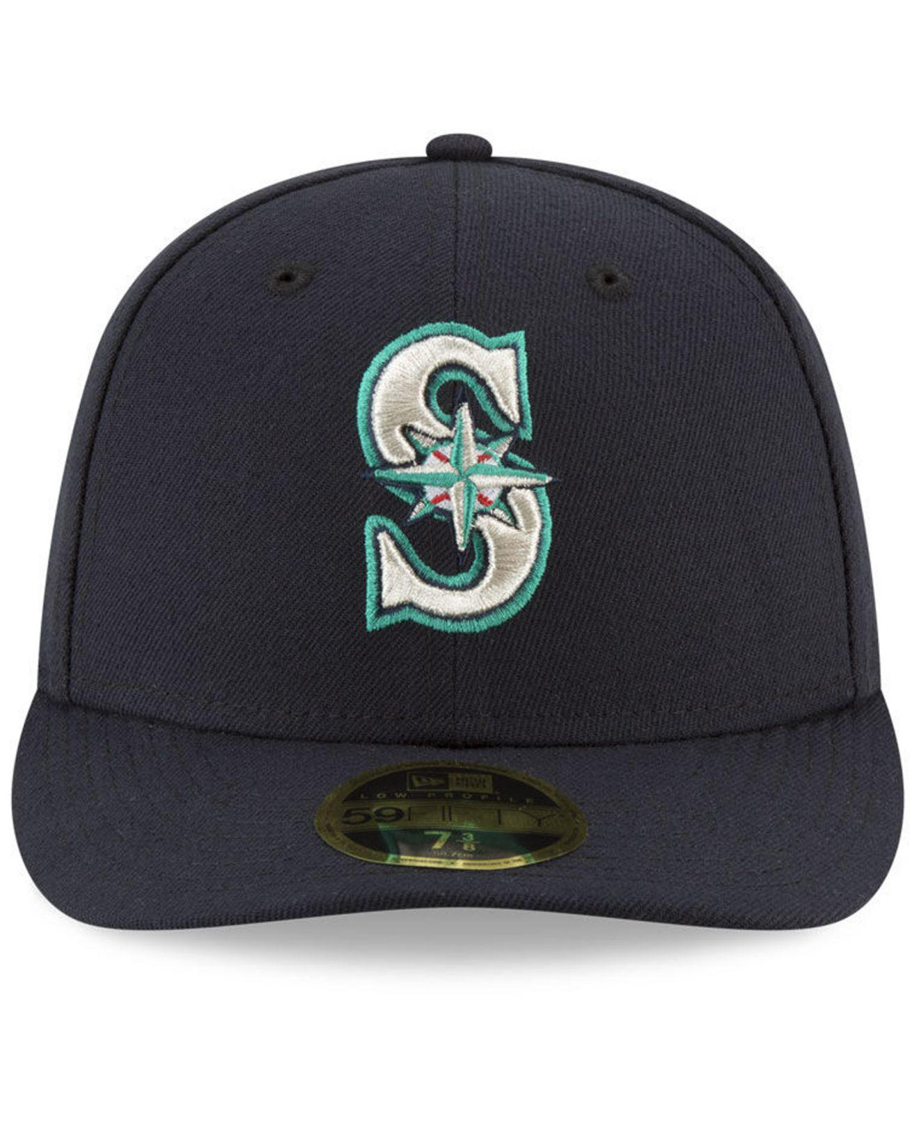 buy popular 35236 0f74b ... france lyst ktz seattle mariners jackie robinson day low profile 59fifty  fitted cap in blue for