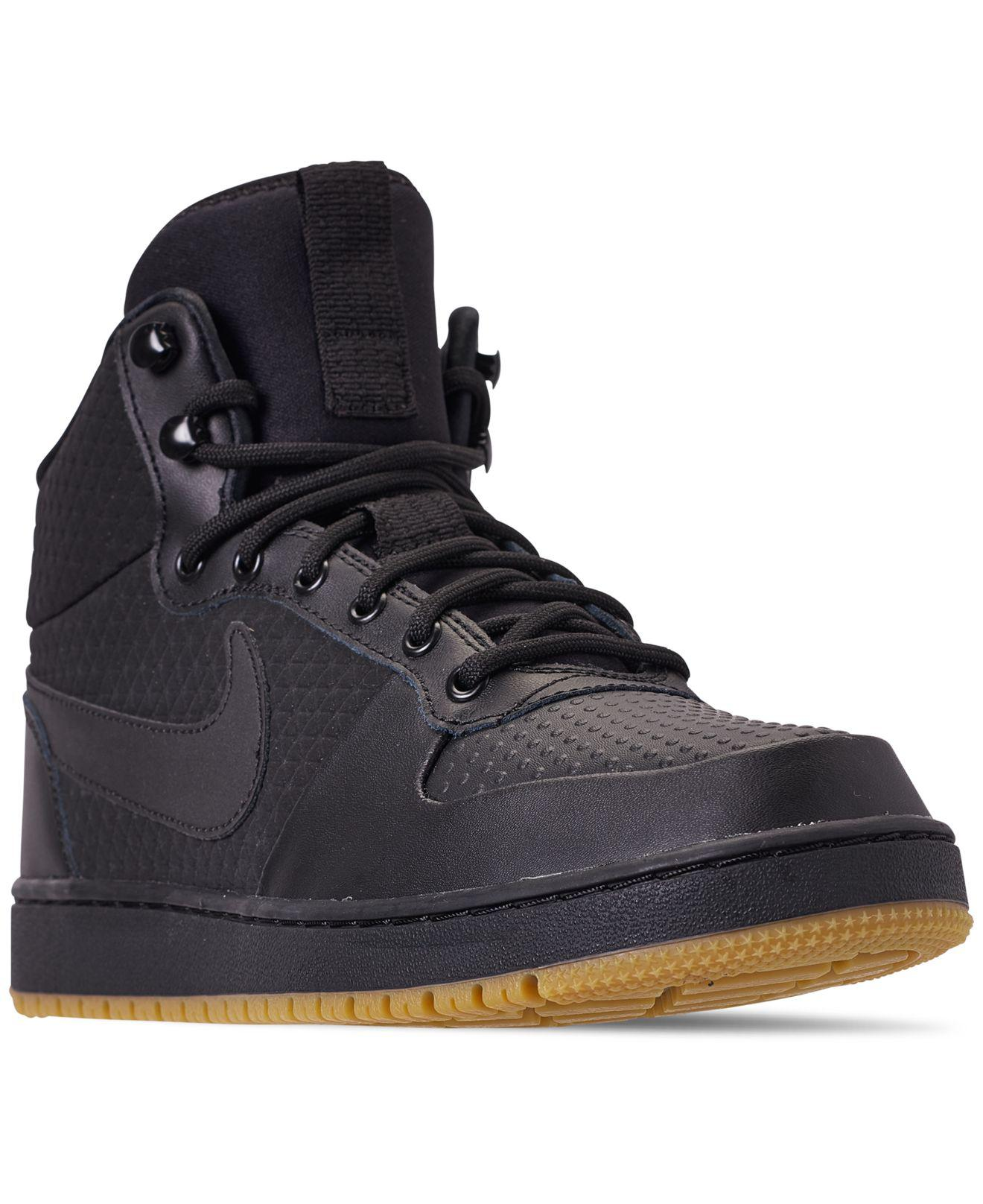 2a26f2ace7 Lyst - Nike Ebernon Mid Winter Casual Sneakers From Finish Line in ...