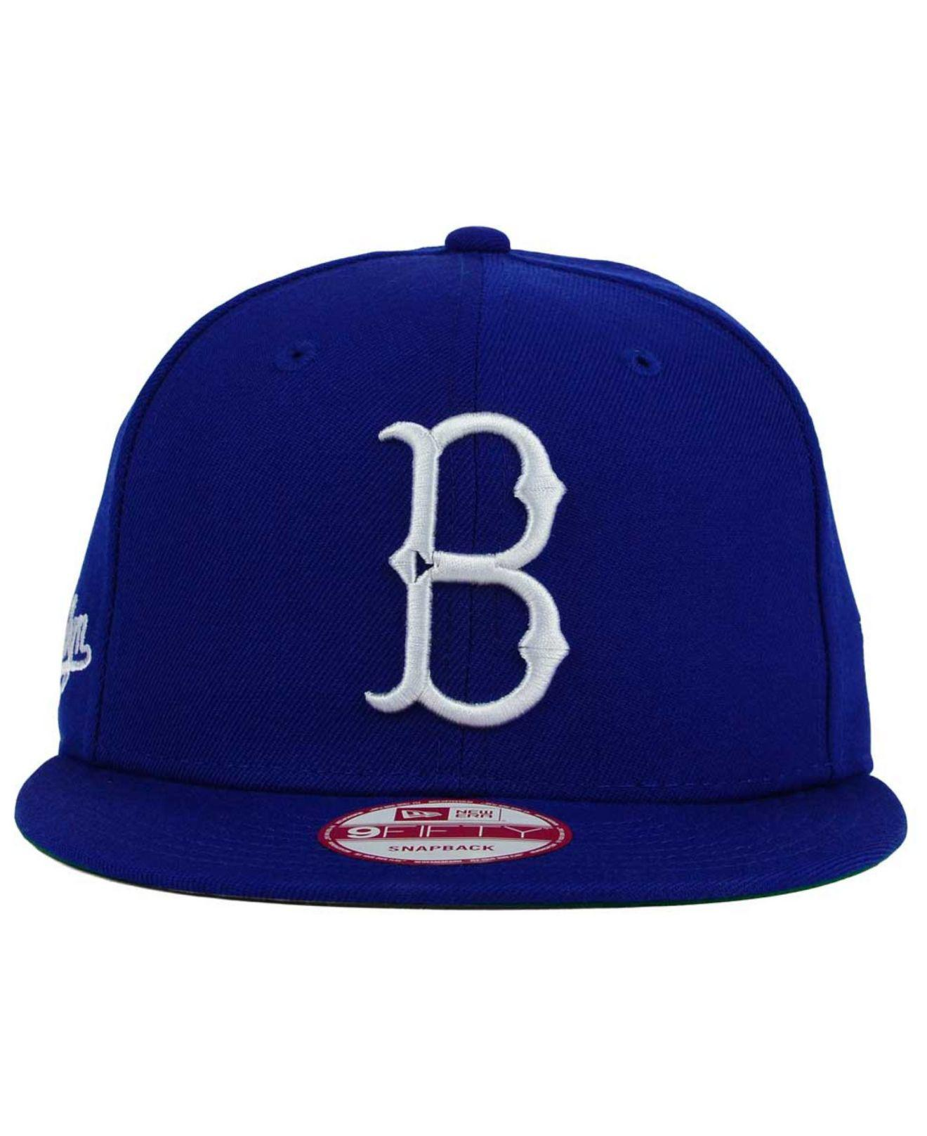 on sale 108b1 b2645 Lyst - KTZ Brooklyn Dodgers 2 Tone Link Cooperstown 9fifty Snapback Cap in  Blue for Men