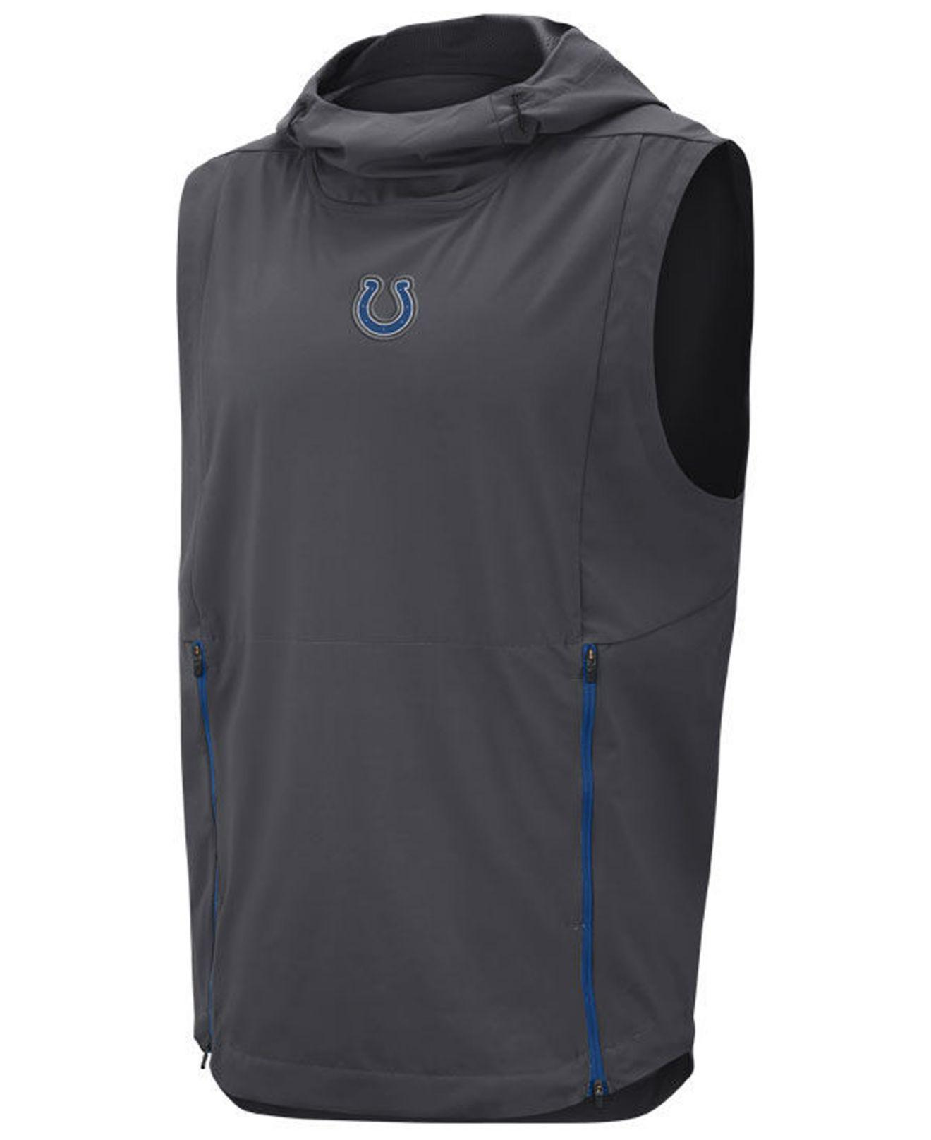 Wholesale Lyst Nike Indianapolis Colts Shield Fly Rush Vest for Men  free shipping oRqi62bh