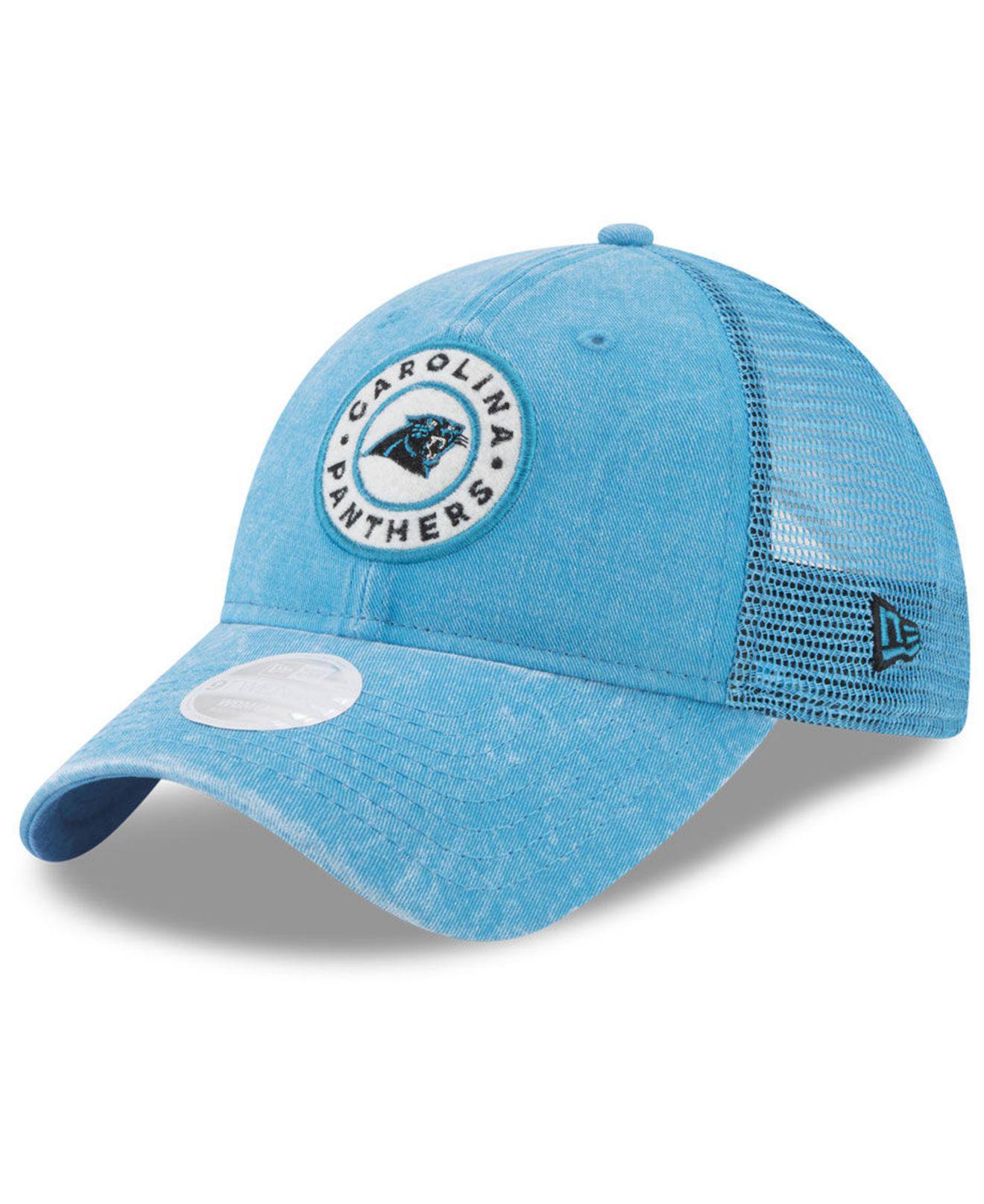 new product e9dbd d46b1 ... get ktz. blue womens perfect patch 9twenty snapback cap ba262 1eaa0