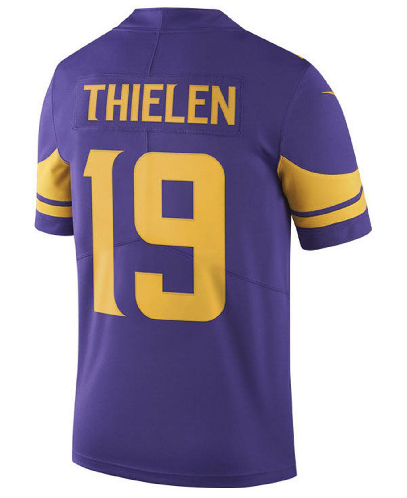 Lyst - Nike Adam Thielen Minnesota Vikings Limited Color Rush Jersey in  Purple for Men e02863ecc