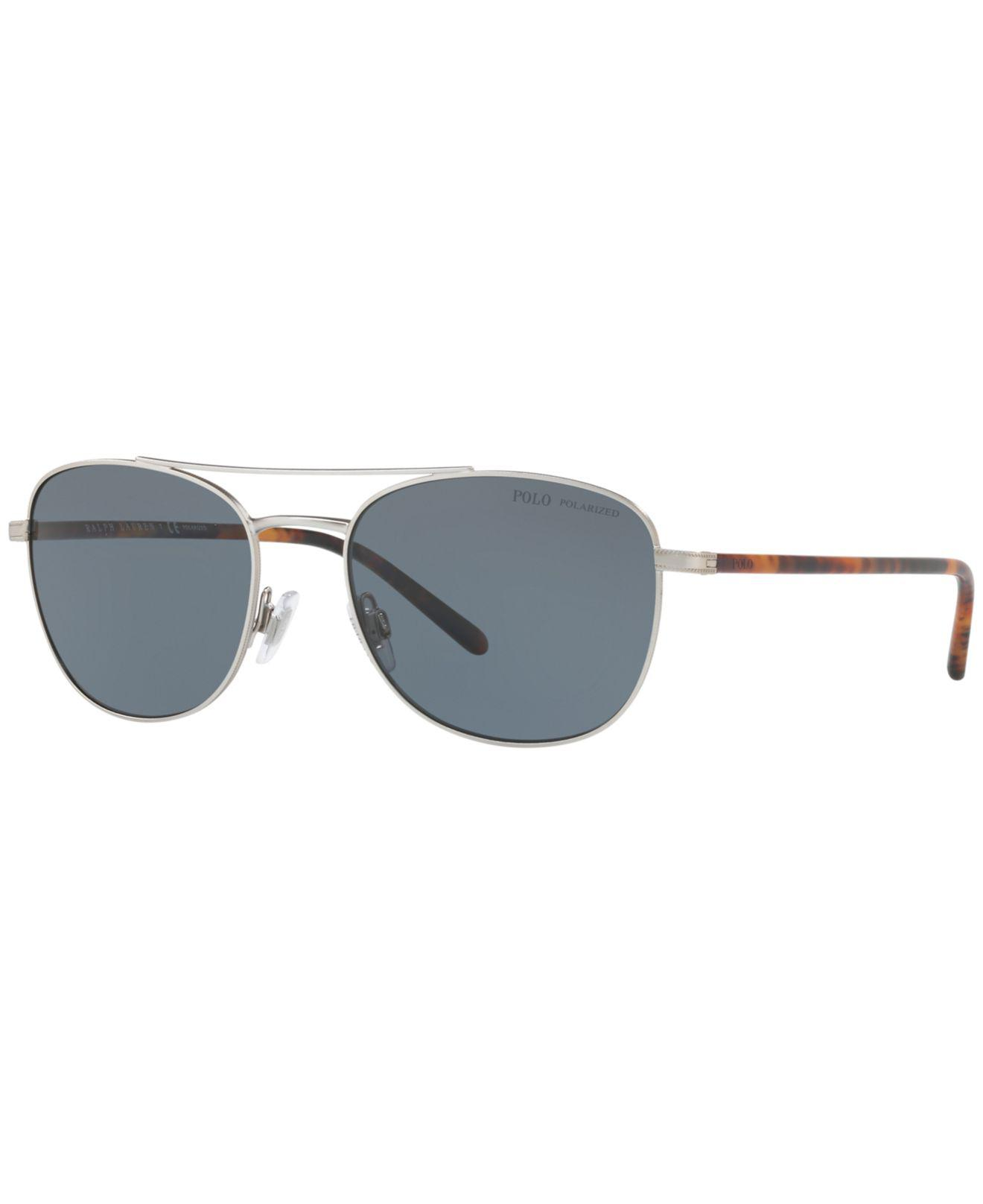 bc79068dde8b Polo Ralph Lauren. Men s Gray Polarized Sunglasses ...