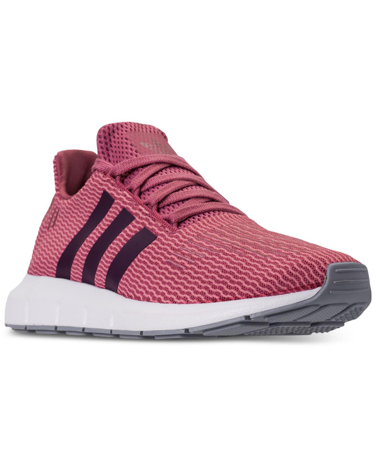 d644d5af9 Lyst - adidas Swift Run Casual Sneakers From Finish Line in Red