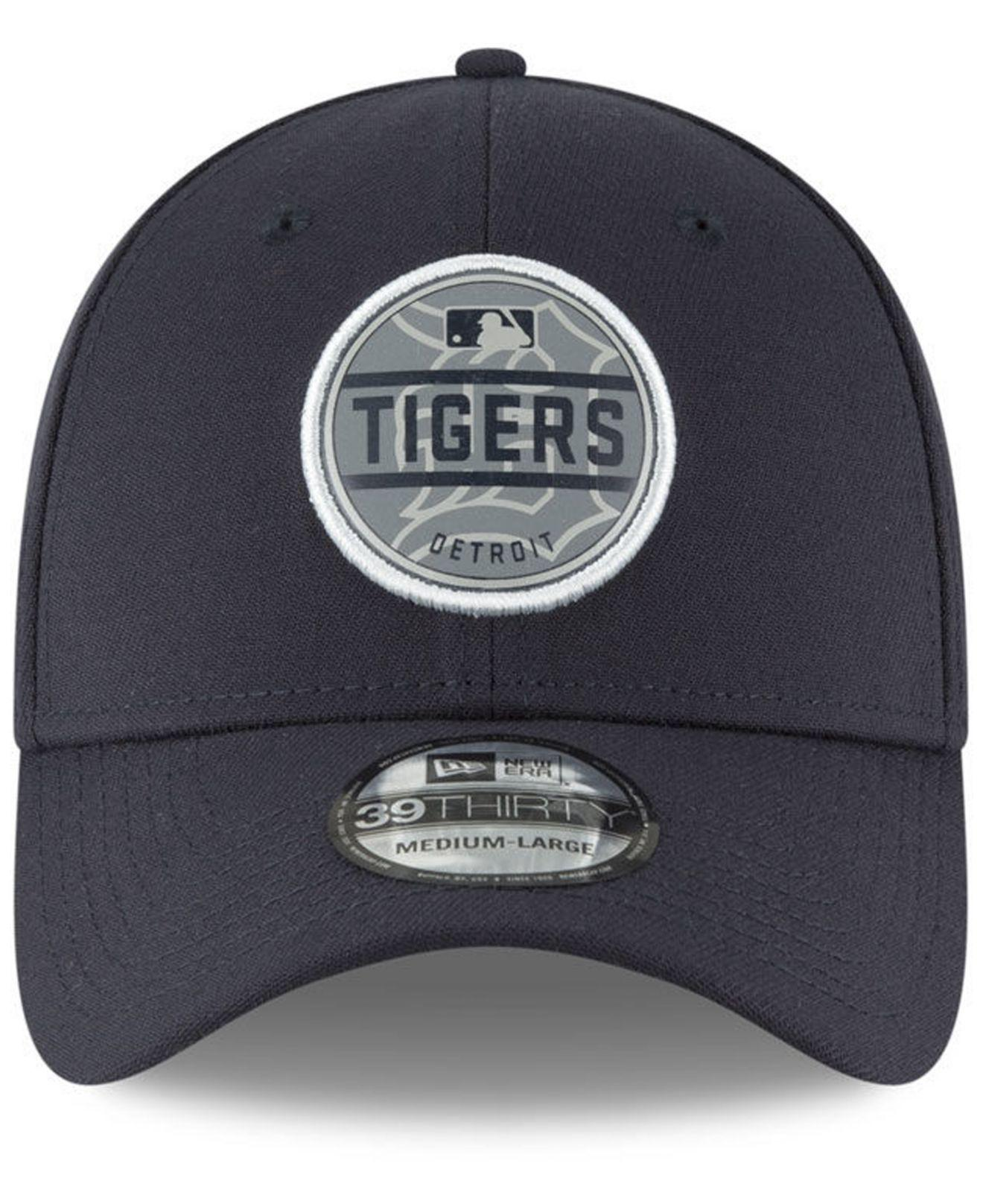newest 693b0 20dee ... 50% off lyst ktz detroit tigers circle reflect 39thirty cap in blue for  men 5442c