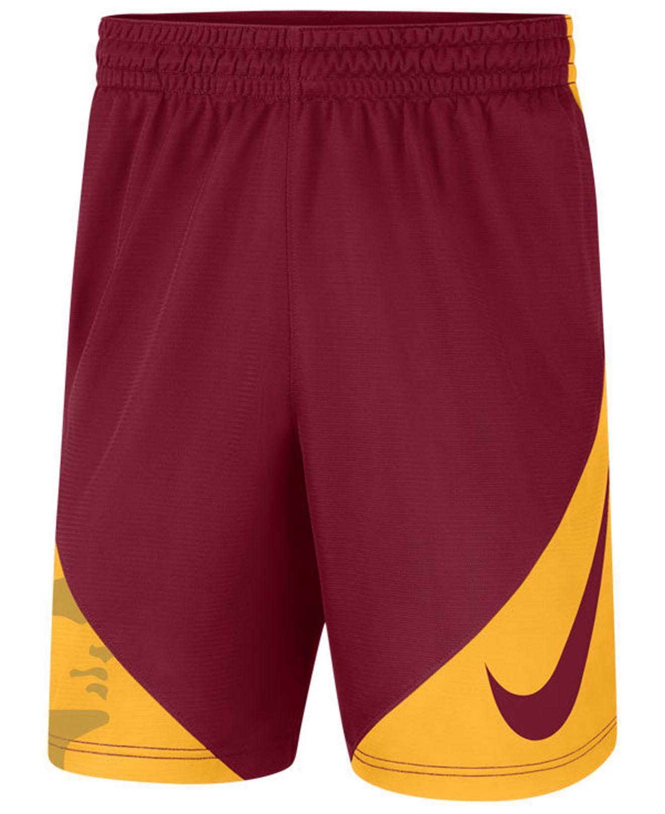 d9c2045933e Lyst - Nike Usc Trojans Hybrid Shorts in Purple for Men