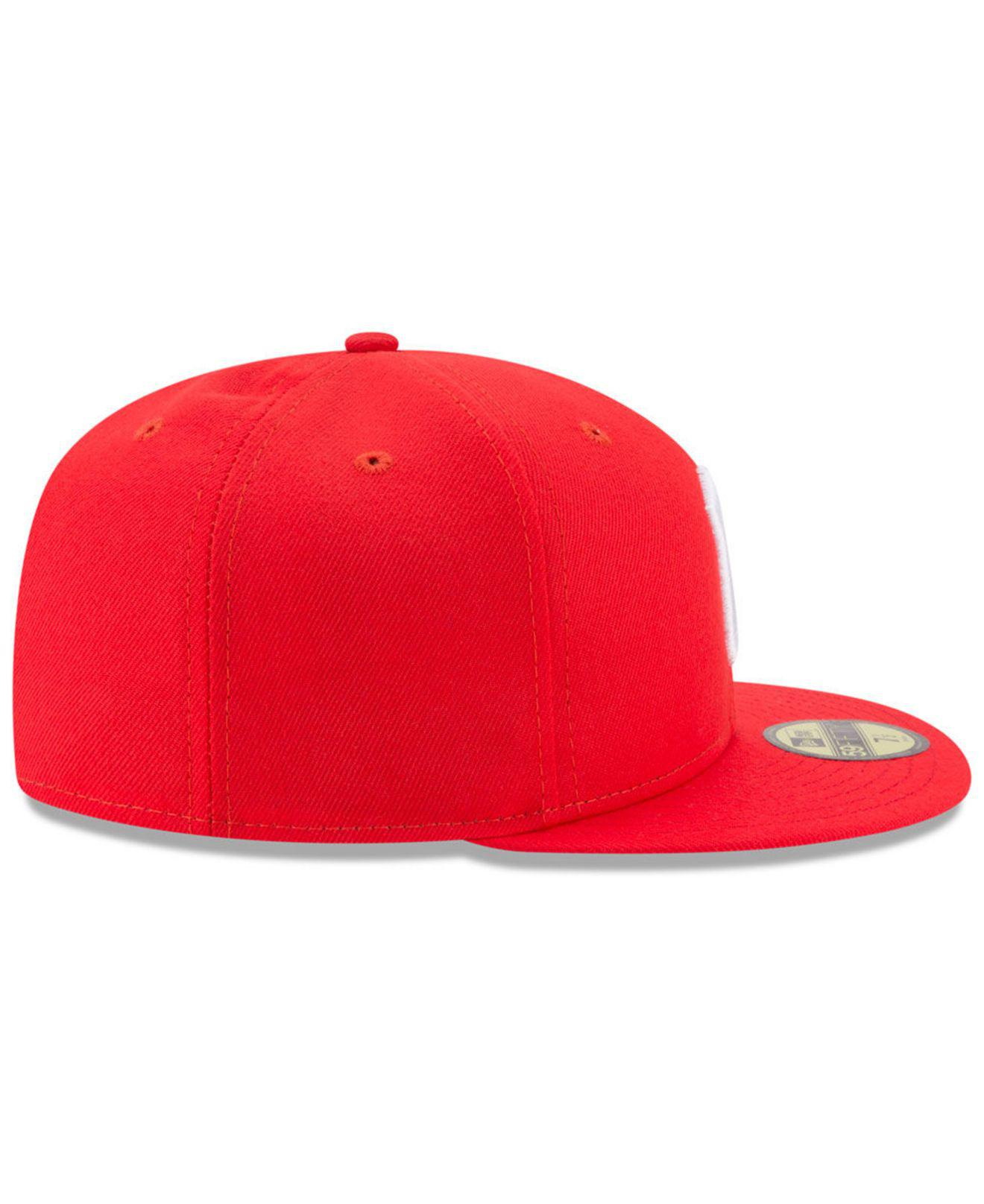 7c55900817b ... discount players weekend 59fifty fitted cap for men lyst. view  fullscreen 7c5bc 462d4