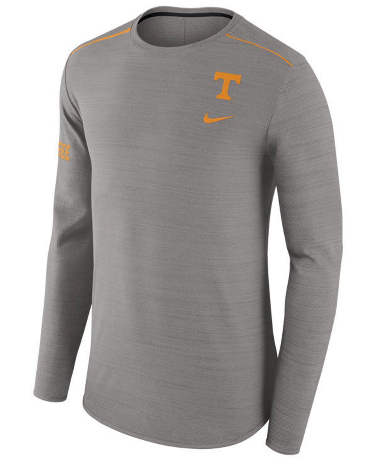 da5c2e8c Lyst - Nike Men's Dri-fit Breathe Long Sleeve T-shirt in Gray for Men